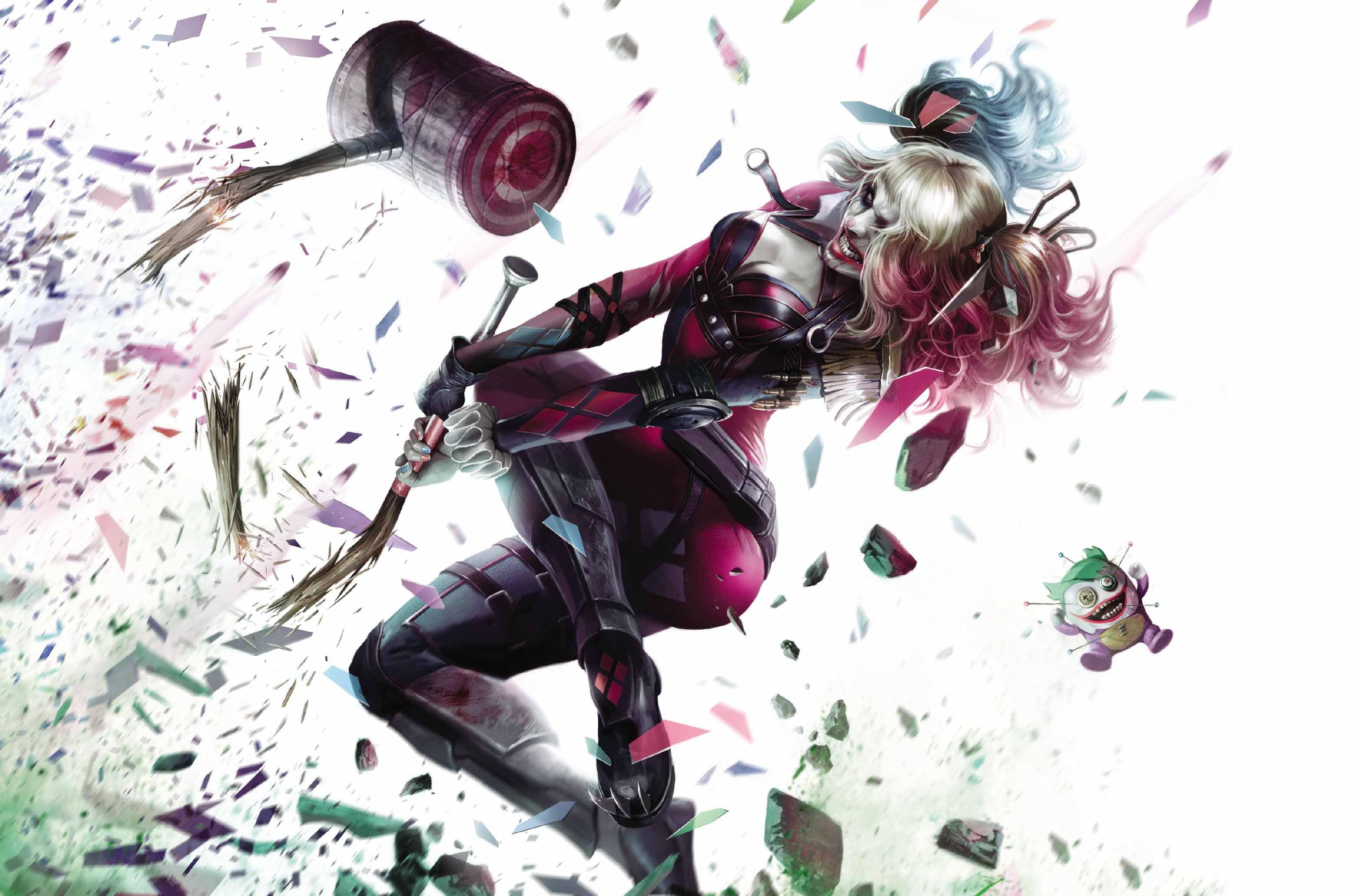 Harley Quinn Dc Art  Hd Superheroes  4k Wallpapers  Images