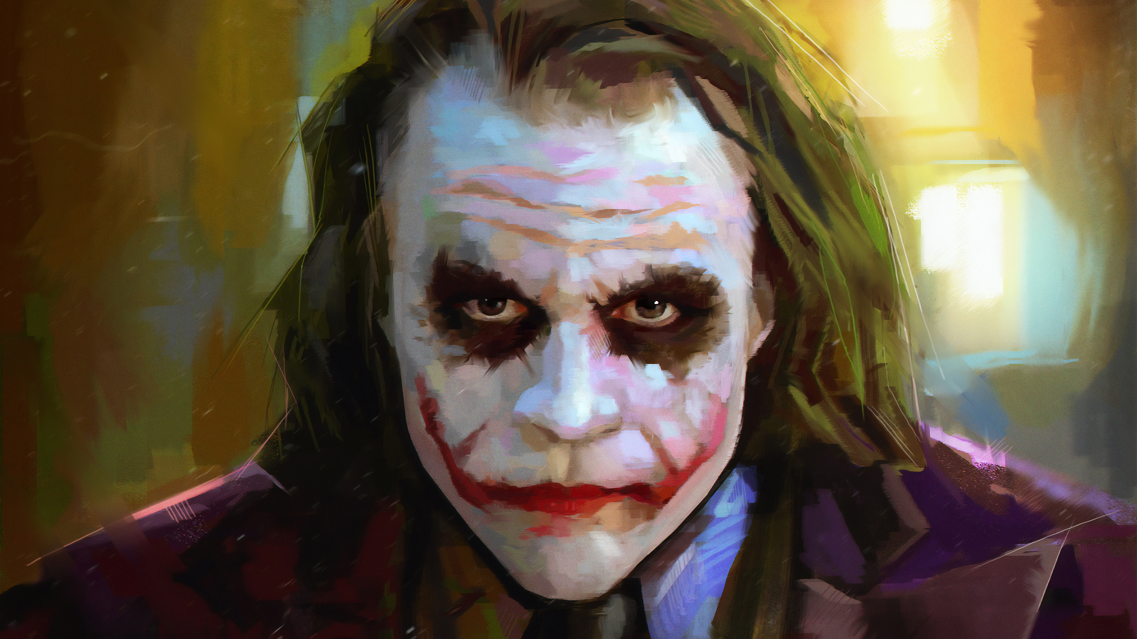 Heath Ledger As Joker 4k Hd Superheroes 4k Wallpapers Images Backgrounds Photos And Pictures