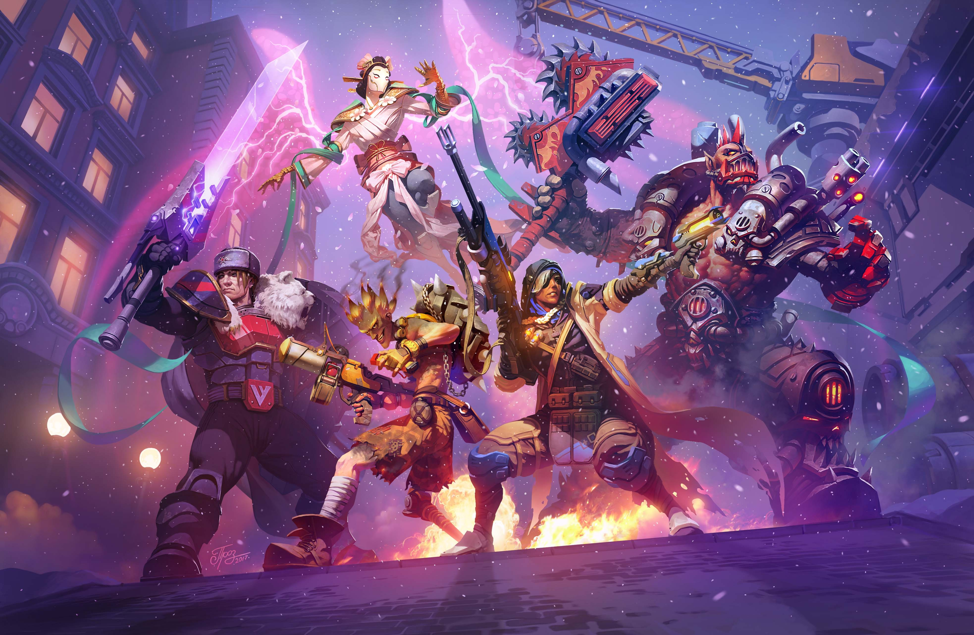 Heroes Of The Storm 4k Hd Games 4k Wallpapers Images