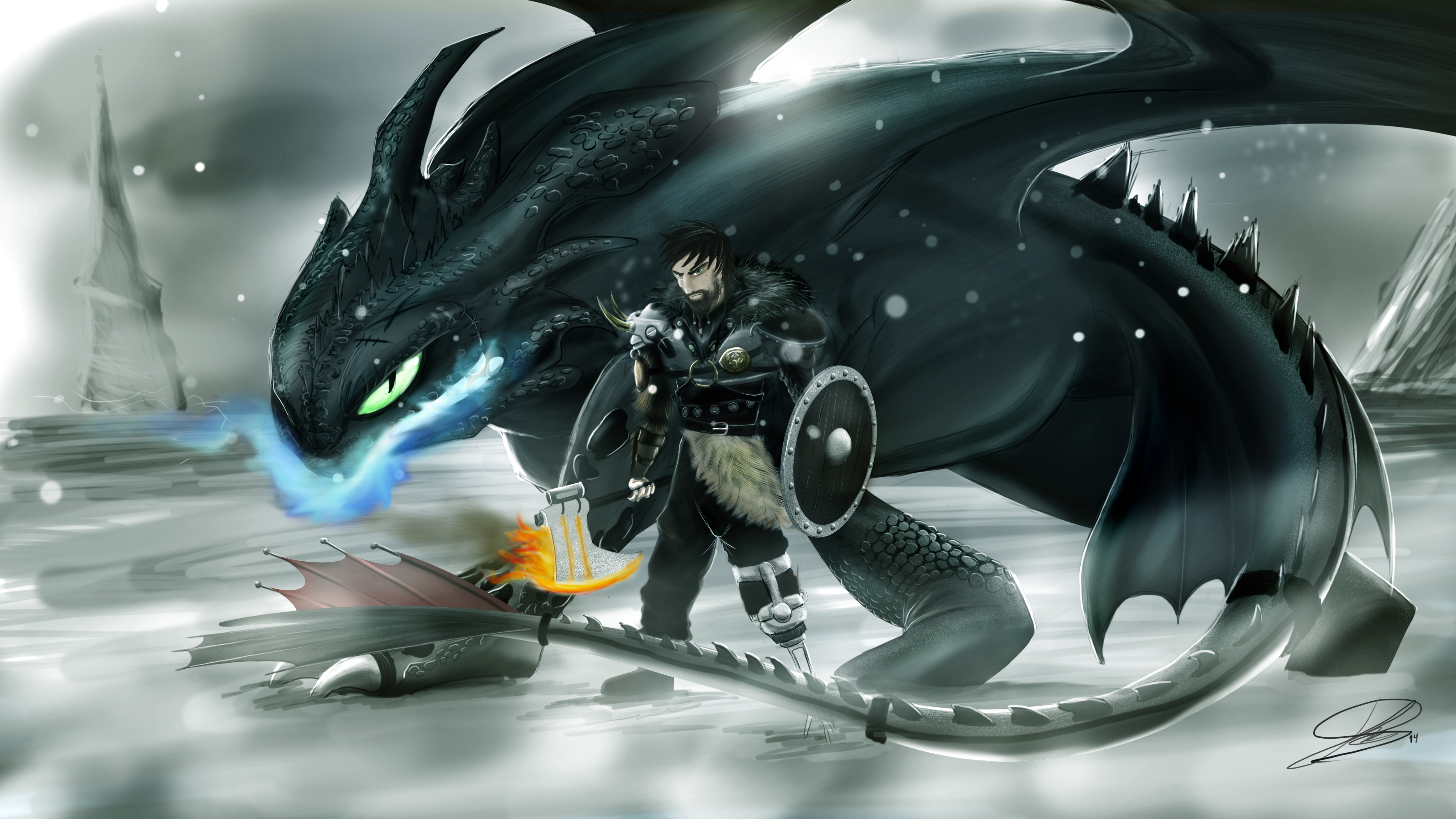 Hiccup How To Train Your Dragon 3 5k, HD Movies, 4k ...