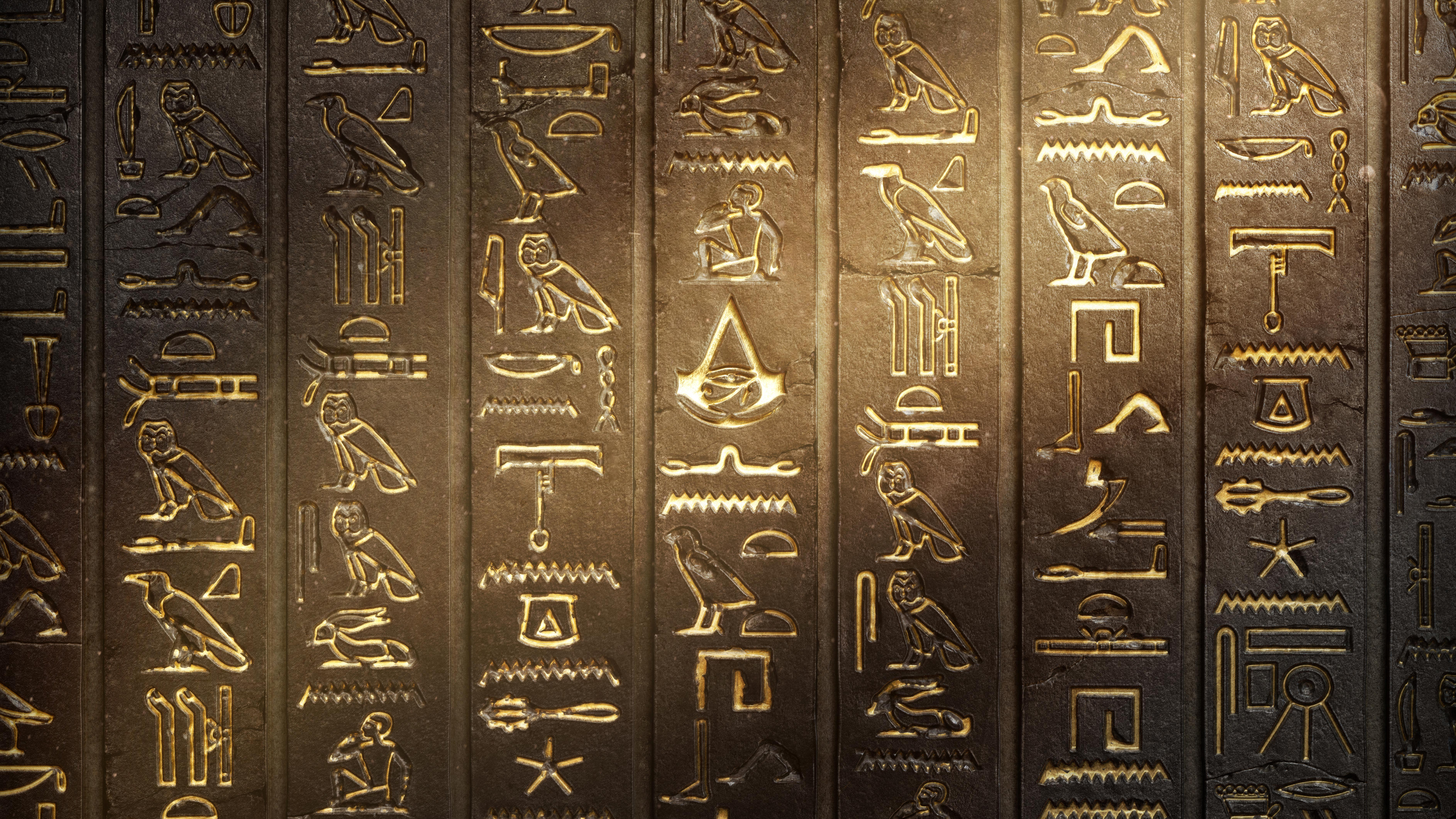 Hieroglyphs Assassins Creed Origins Hd Games 4k Wallpapers Images Backgrounds Photos And Pictures