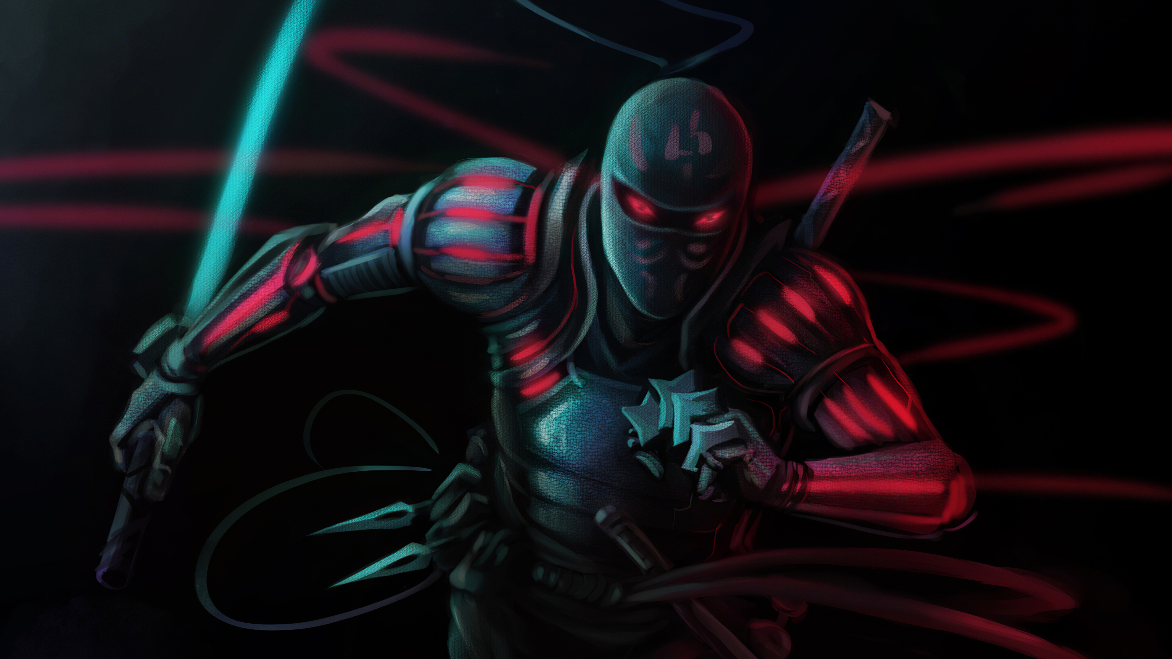 Hig Teck Shinobi 4k Hd Artist 4k Wallpapers Images Backgrounds Photos And Pictures
