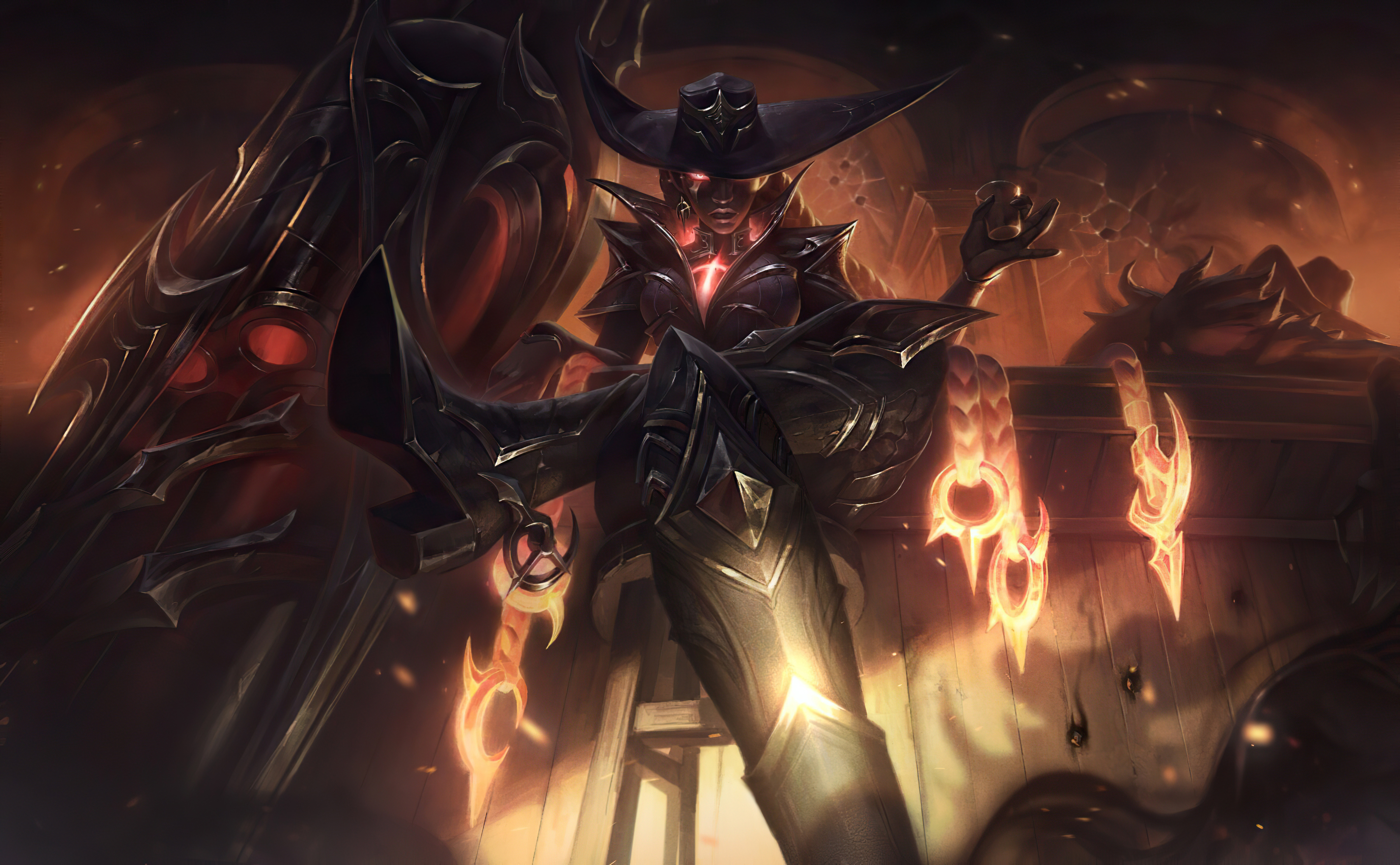 High Noon Senna League Of Legends Hd Games 4k Wallpapers Images Backgrounds Photos And Pictures