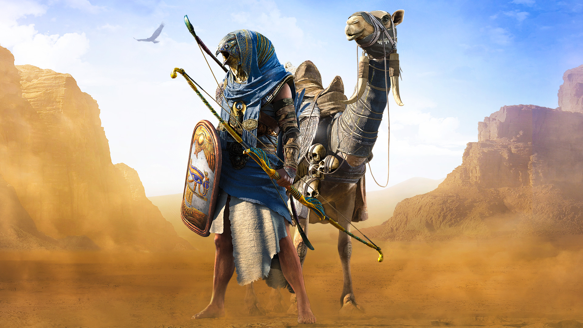 Horus Assassins Creed Origins Hd Games 4k Wallpapers Images Backgrounds Photos And Pictures