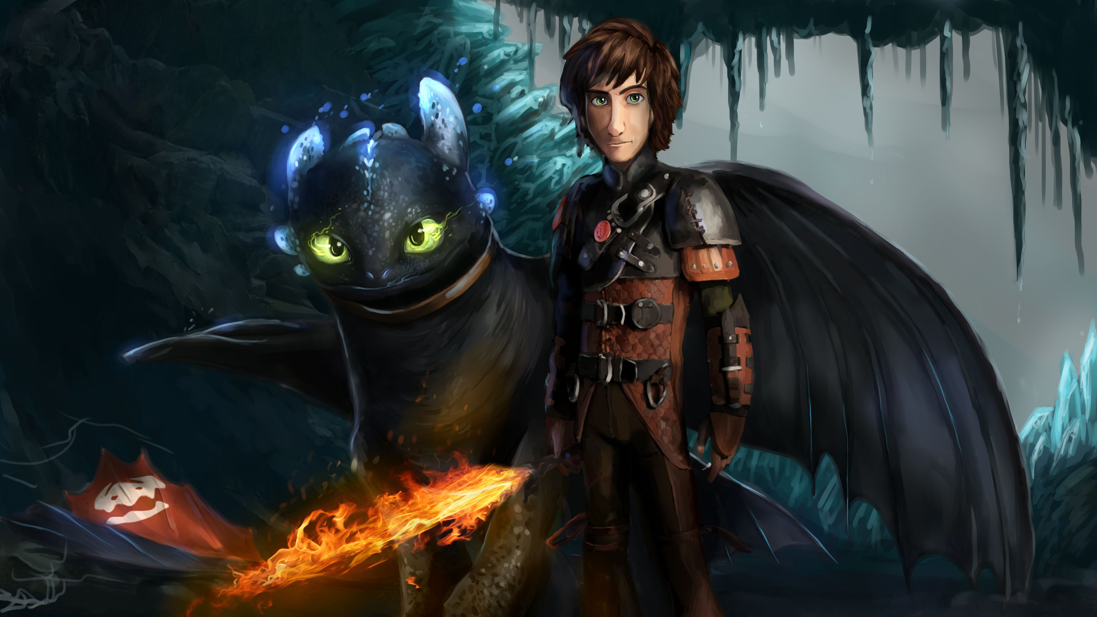 How To Train Your Dragon The Hidden World Art Hd Movies 4k
