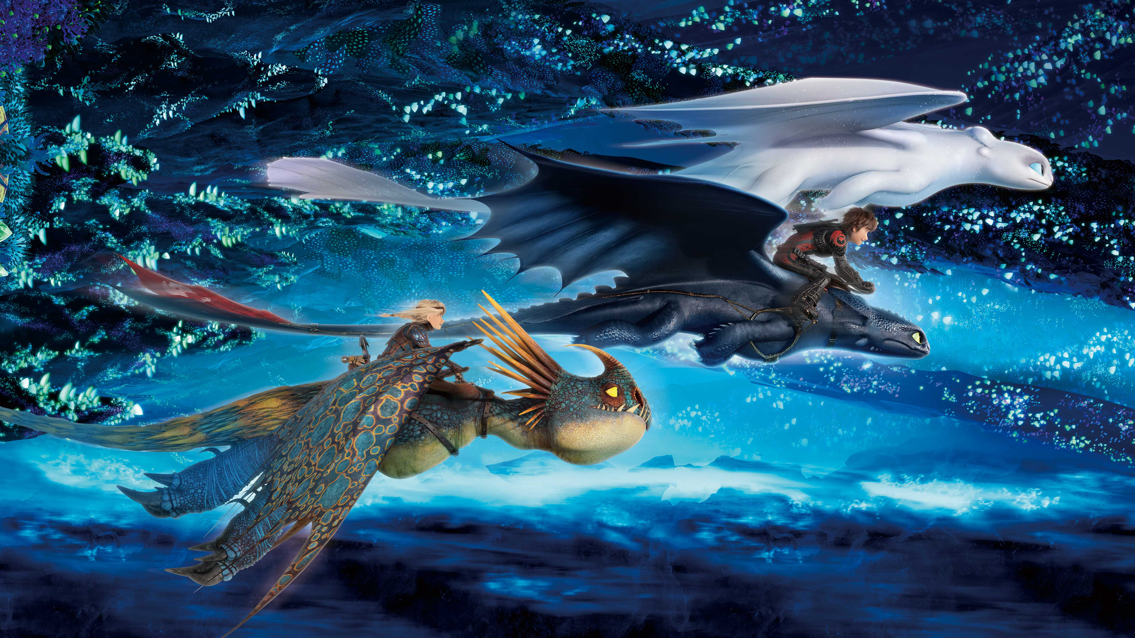 How To Train Your Dragon The Hidden World Imax, HD Movies ...