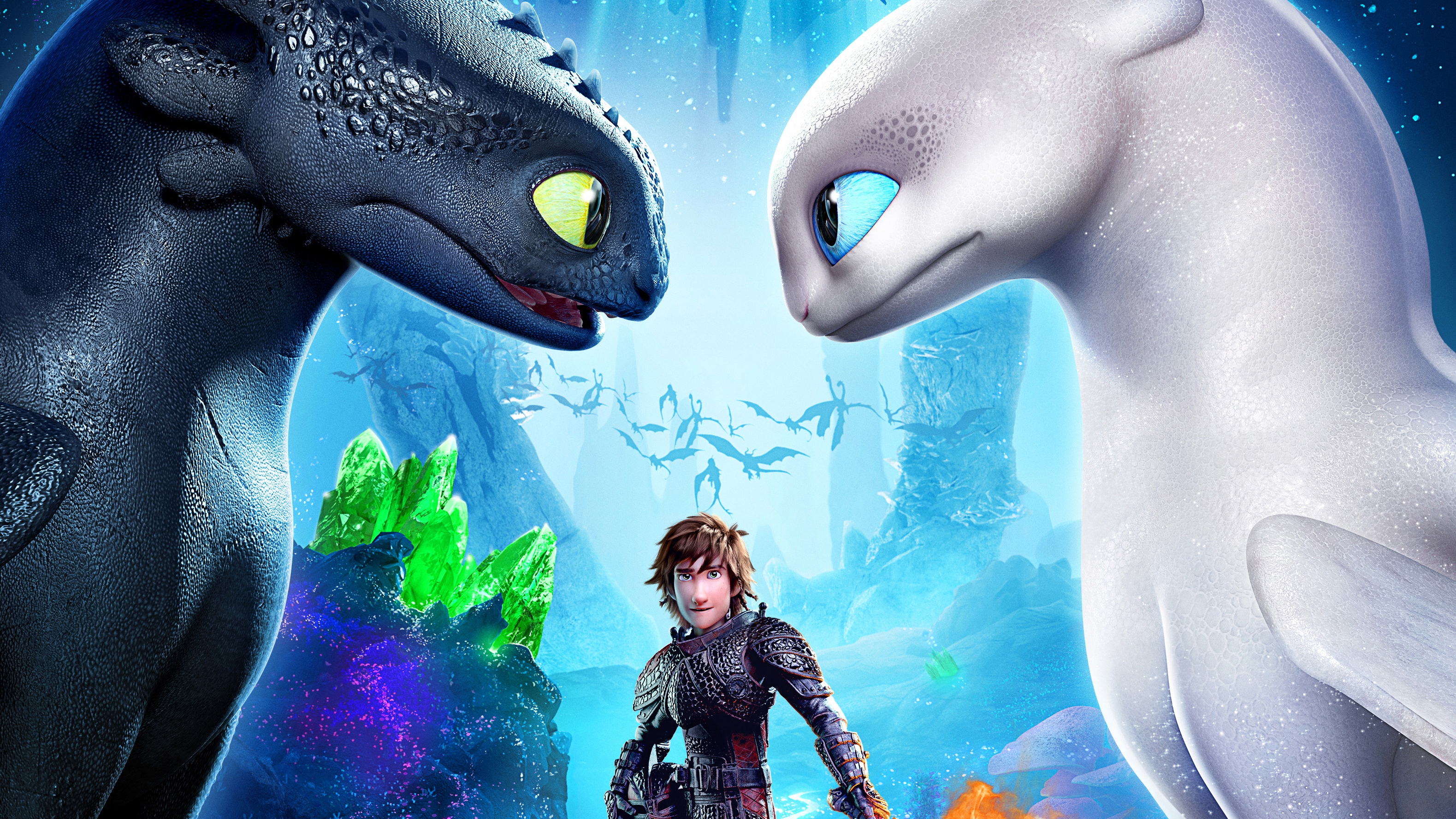 How To Train Your Dragon The Hidden World Movie Poster Hd Movies