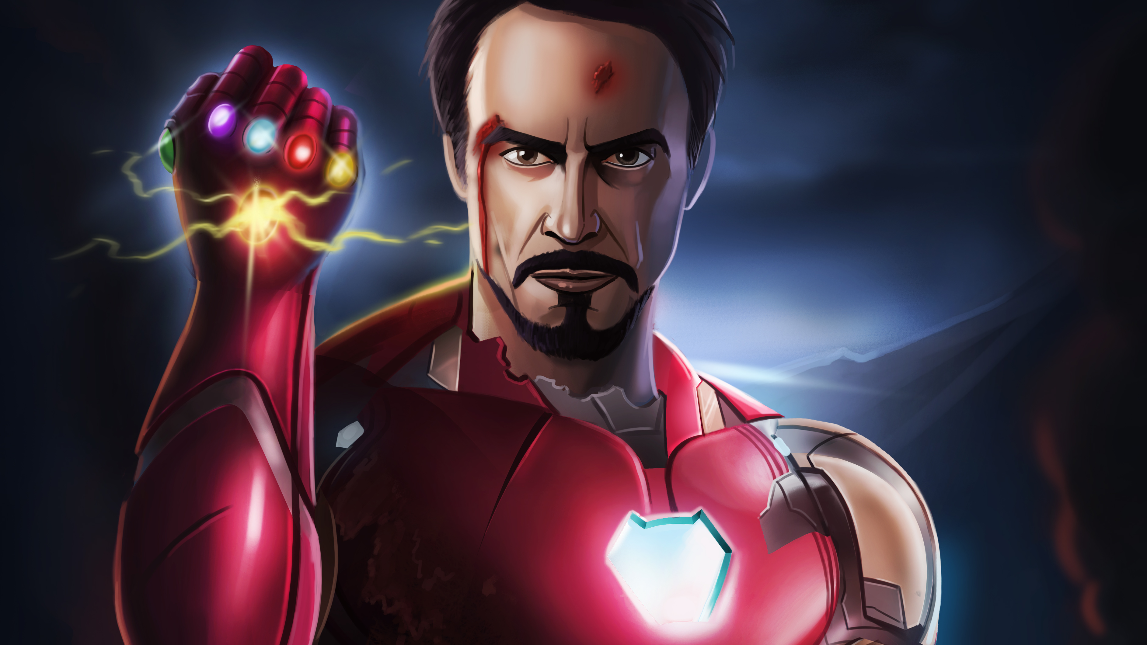 I Am Iron Man 4k Artwork Hd Superheroes 4k Wallpapers Images Backgrounds Photos And Pictures