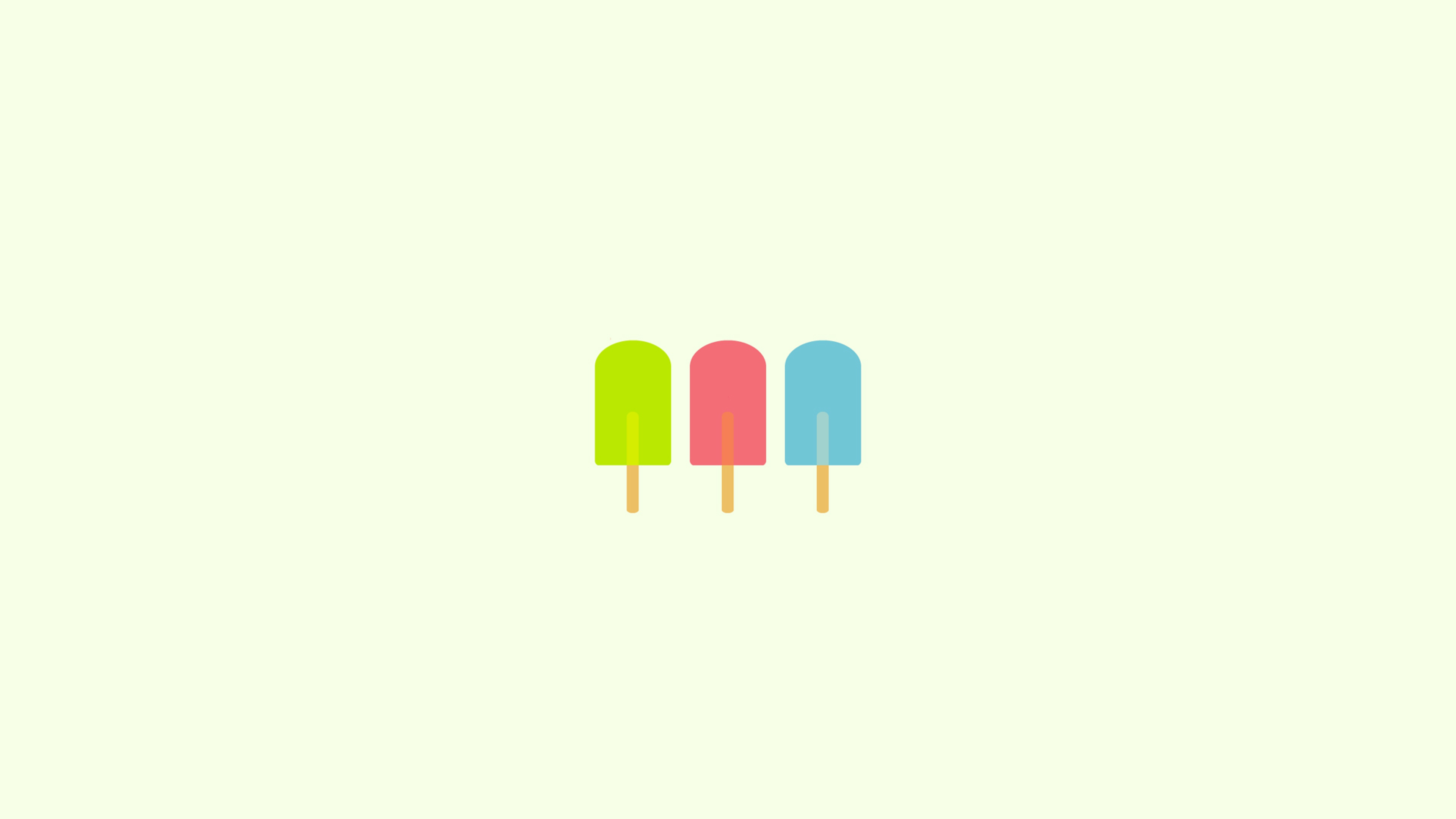 ice cream minimalism art