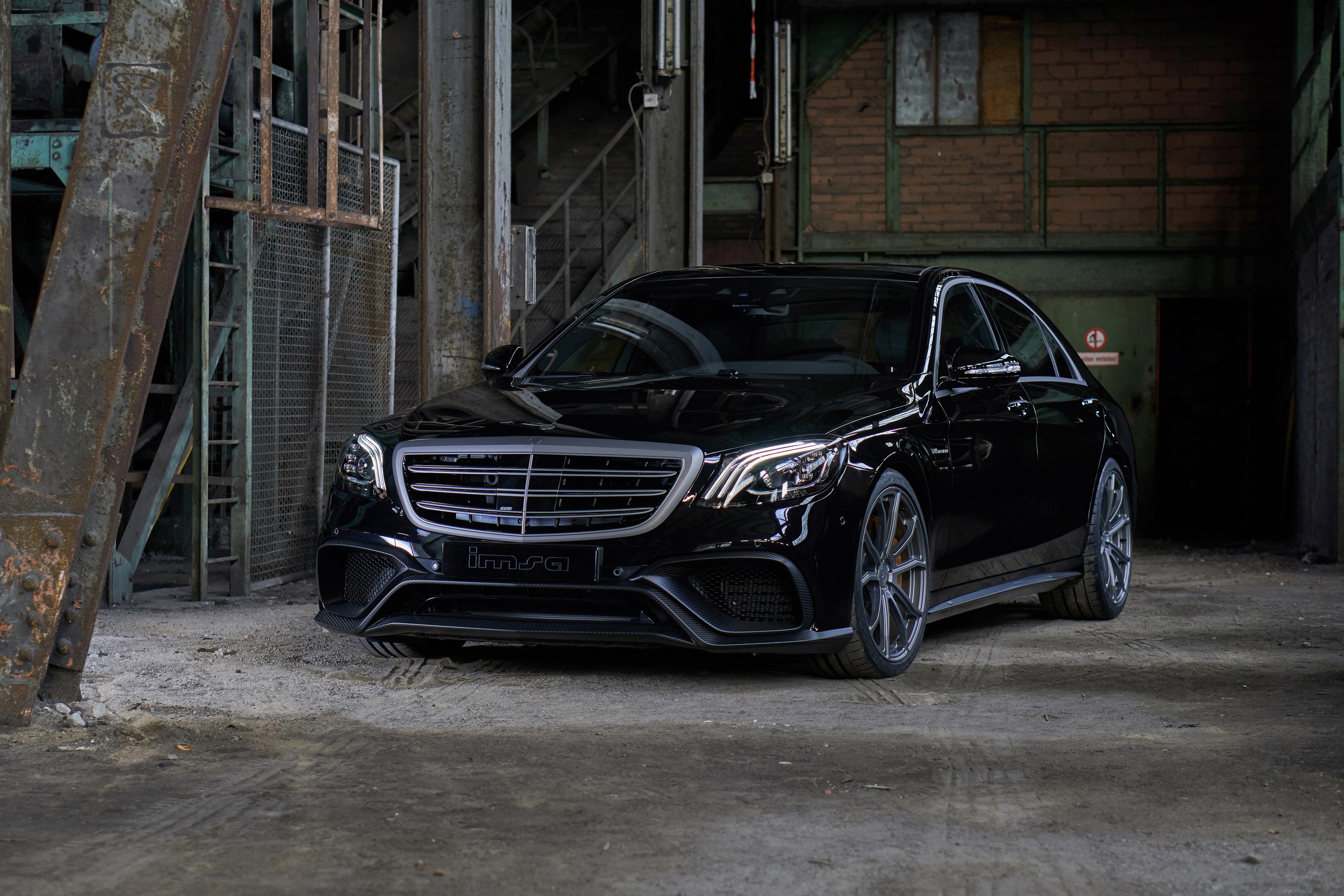 2048x1152 Imsa Mercedes Benz S Klasse 2018 2048x1152 Resolution Hd Images, Photos, Reviews