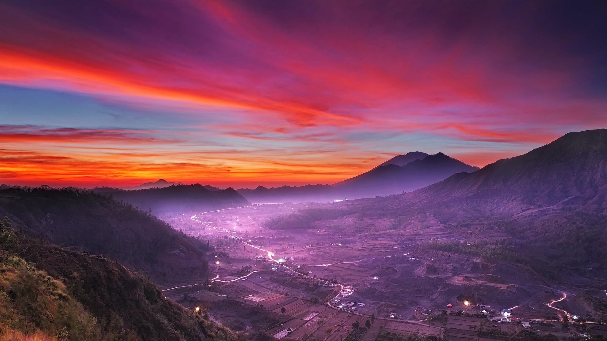 indonesia landscape nature
