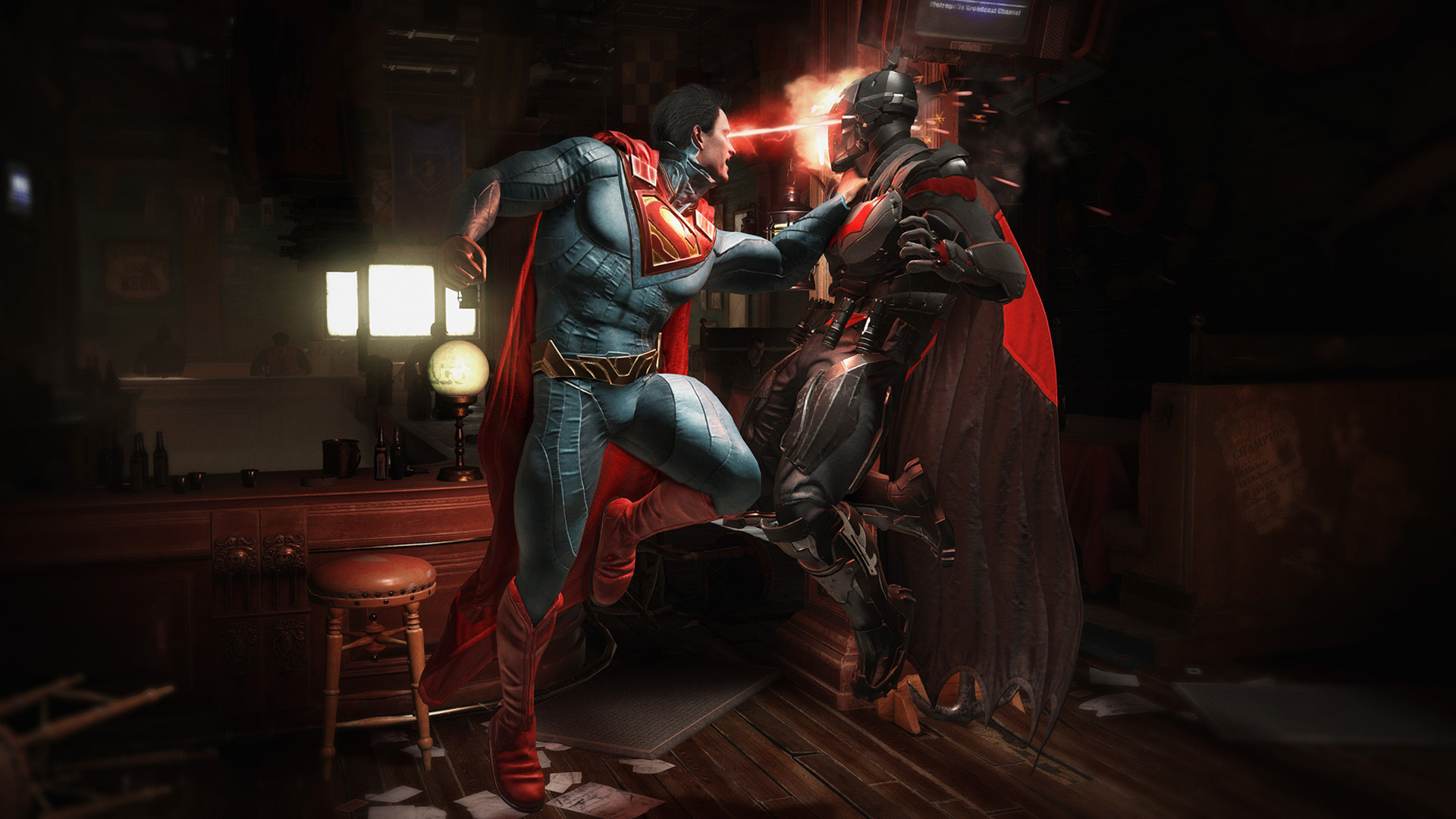 1366x768 Injustice 2 Batman Vs Superman 1366x768 Resolution Hd 4k
