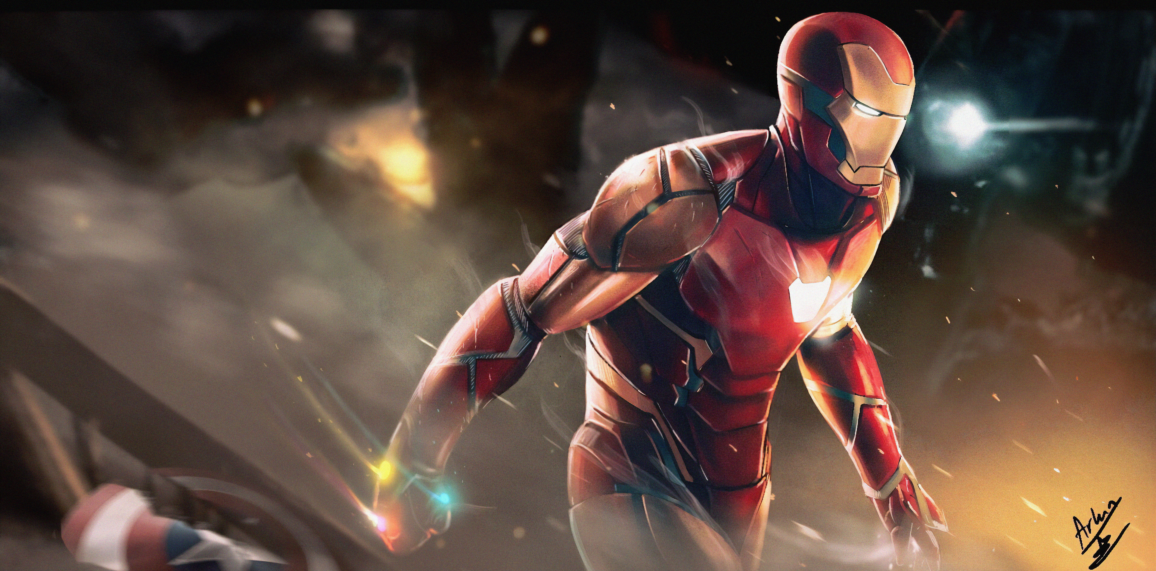 Iron Man 4k Sketch Art Hd Superheroes 4k Wallpapers Images Backgrounds Photos And Pictures