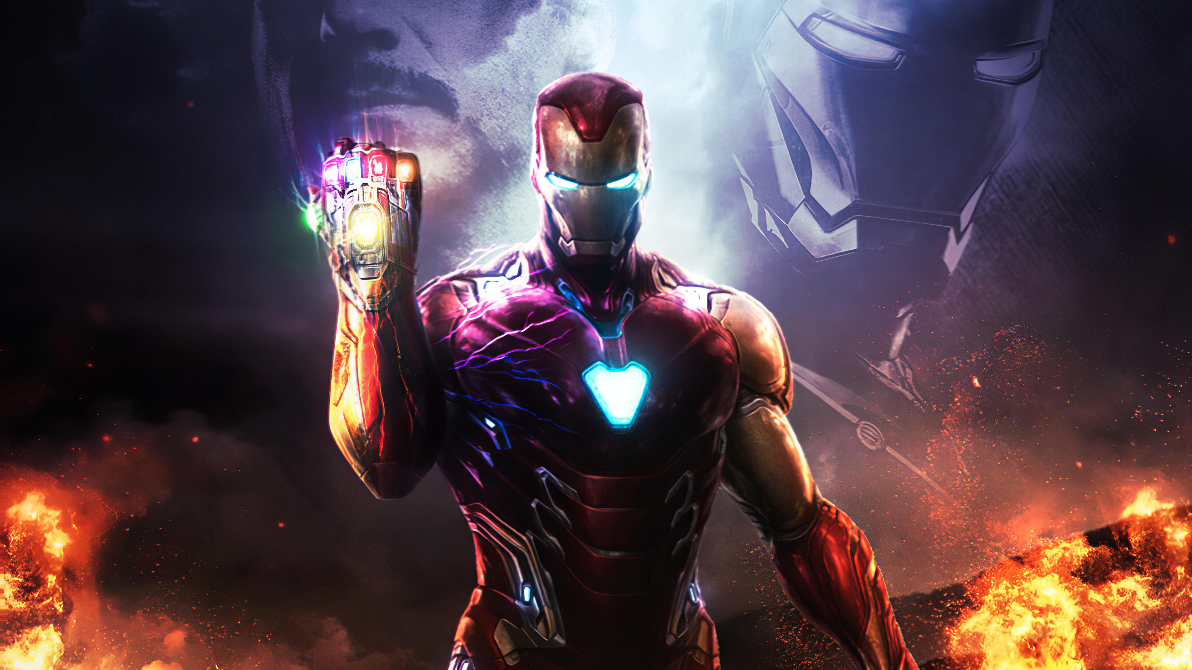 Iron Man Aka Robert Downey Jr, HD Superheroes, 4k ...