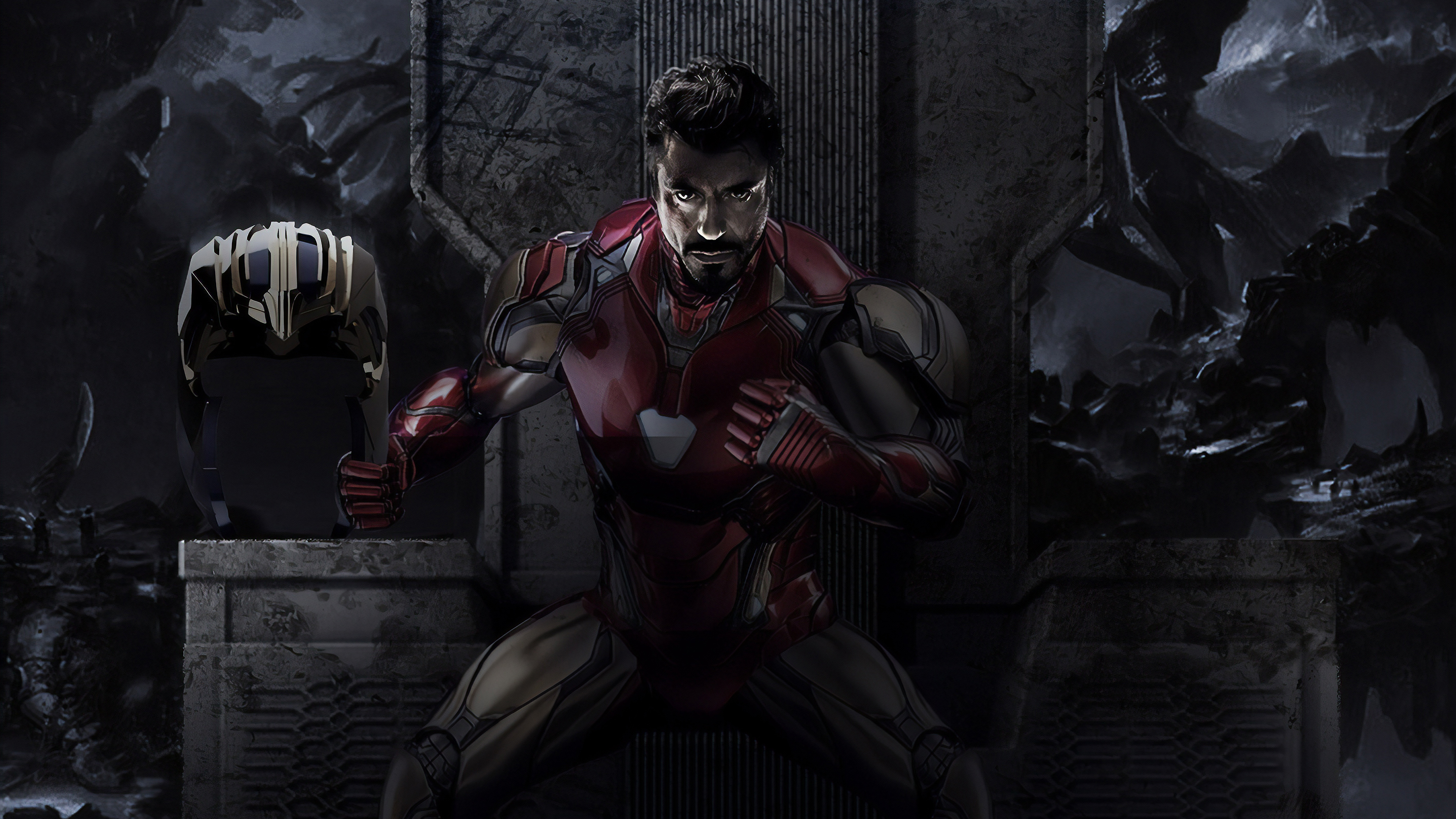 Iron Man Endgame 4k Hd Superheroes 4k Wallpapers Images