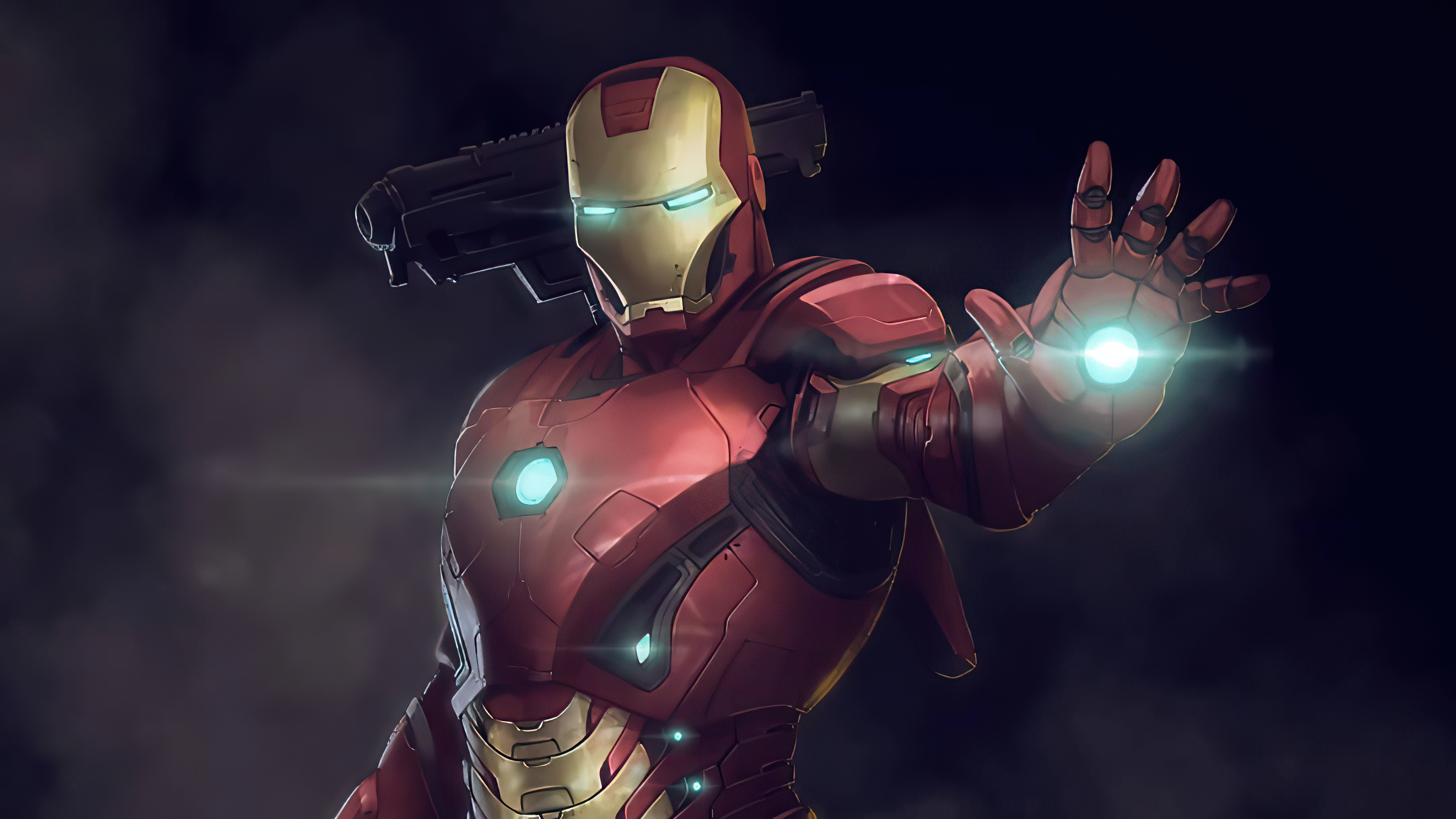 1366x768 Iron Man Fire Blaster 4k 1366x768 Resolution Hd 4k Wallpapers Images Backgrounds Photos And Pictures