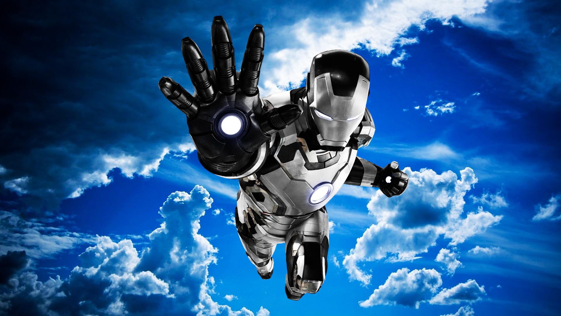 1920x1080 Iron Man Mark 42 Black And White Laptop Full Hd 1080p Hd