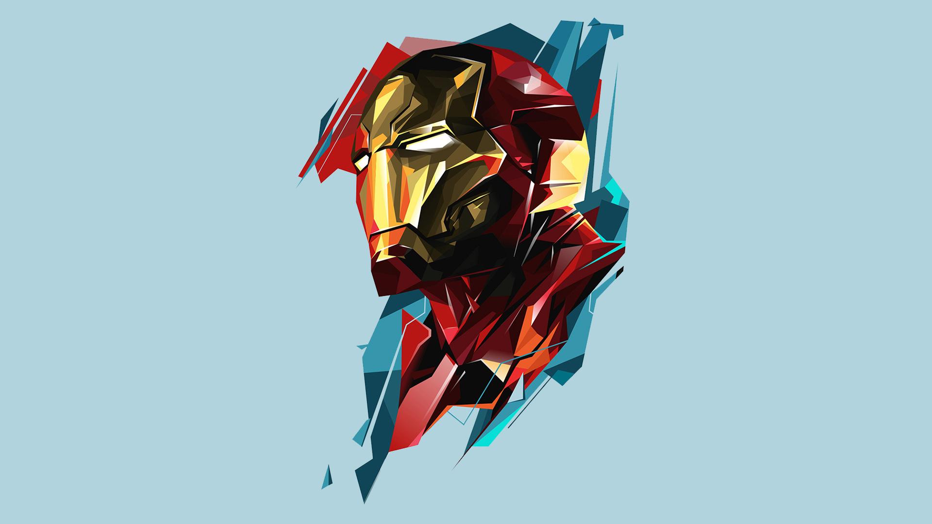 2048x1152 Iron Man Marvel Heroes Art
