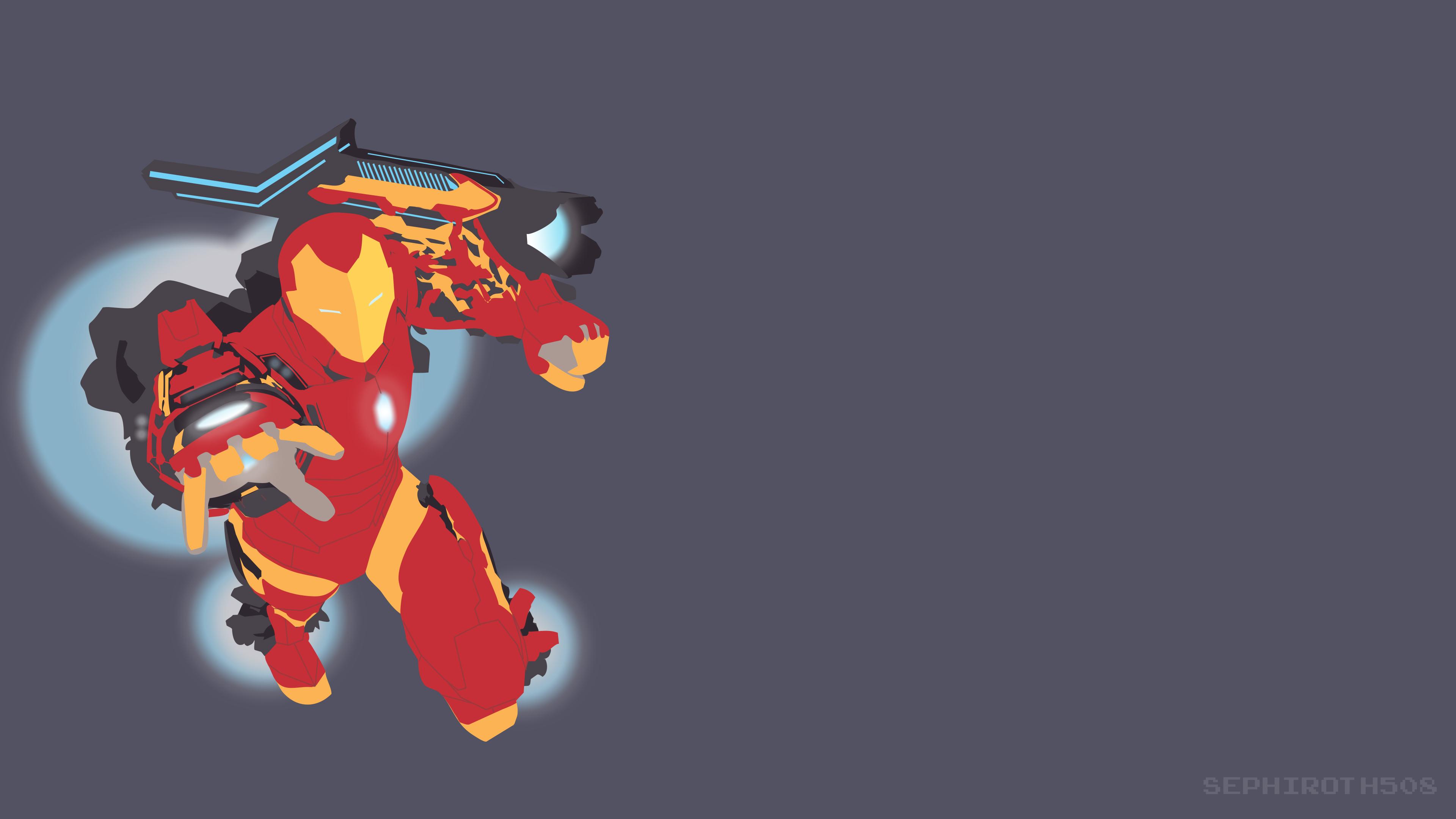 Iron Man Vector 5k Hd Superheroes 4k Wallpapers Images