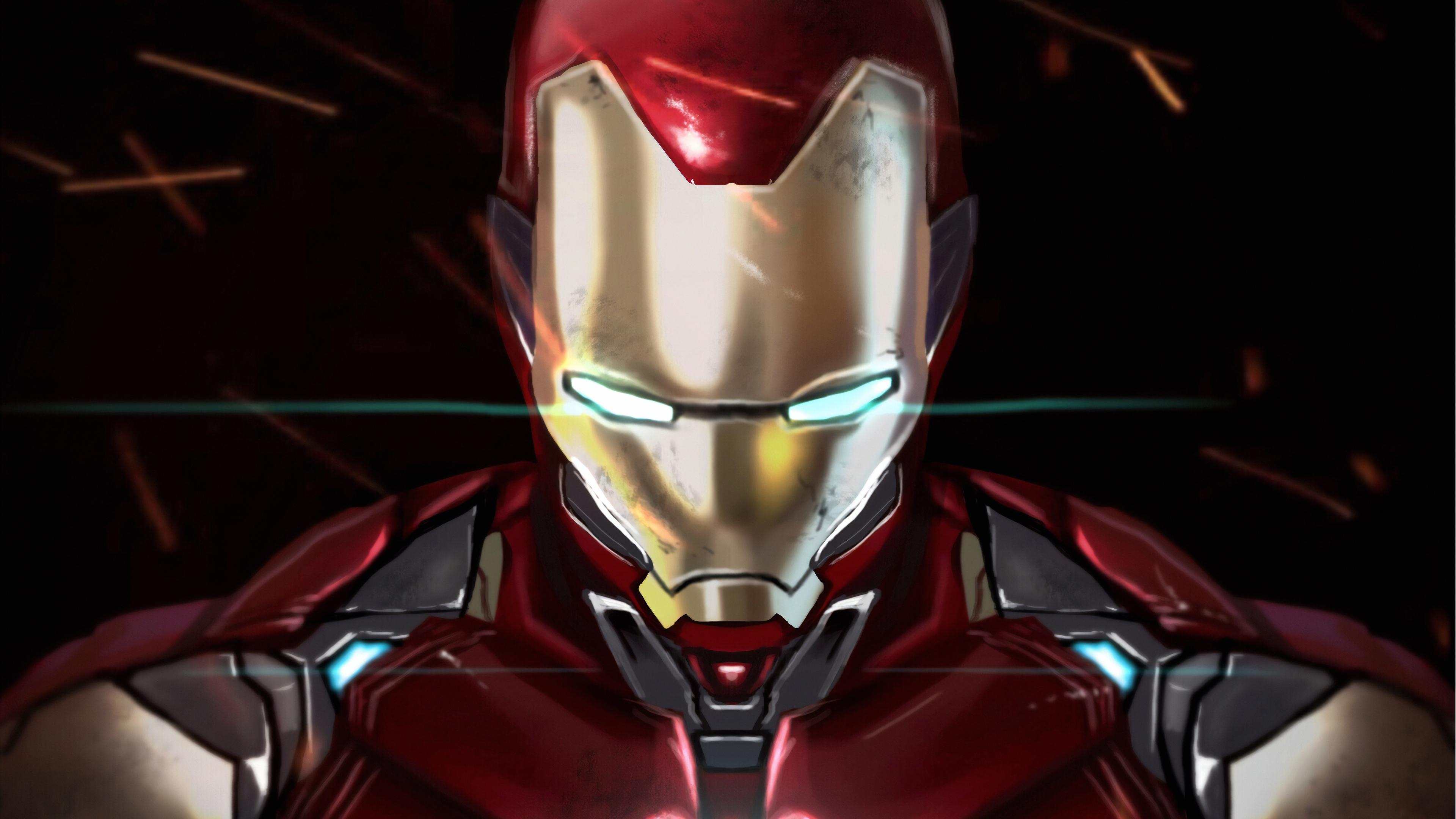 3840x2160 Iron Man With Infinity Gauntlet 4k Hd 4k
