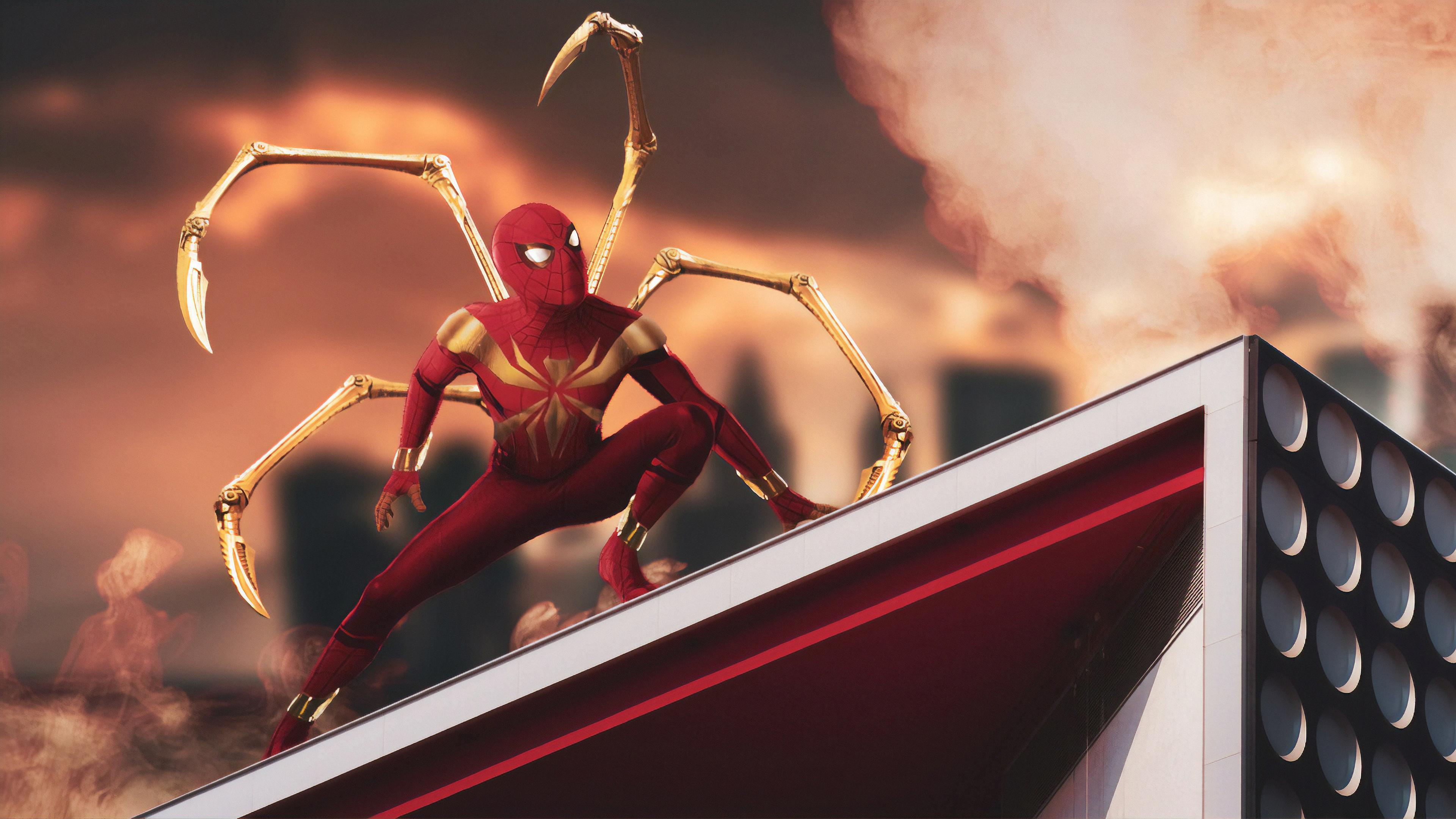 1152x864 Iron Spiderman Art 4k 1152x864 Resolution Hd 4k