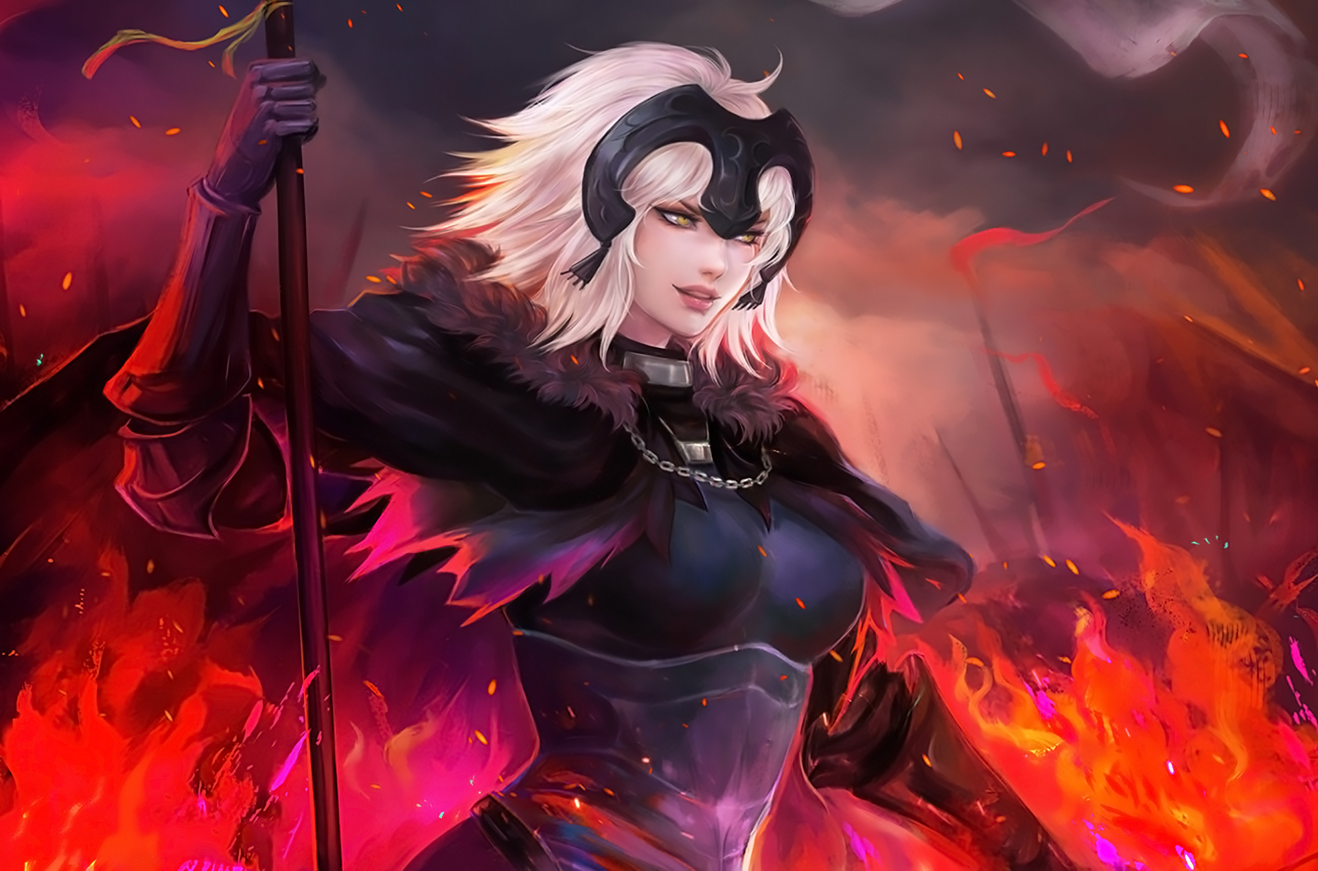 Jeanne Alter Anime Fate Grand Order Hd Animals 4k Wallpapers Images Backgrounds Photos And Pictures