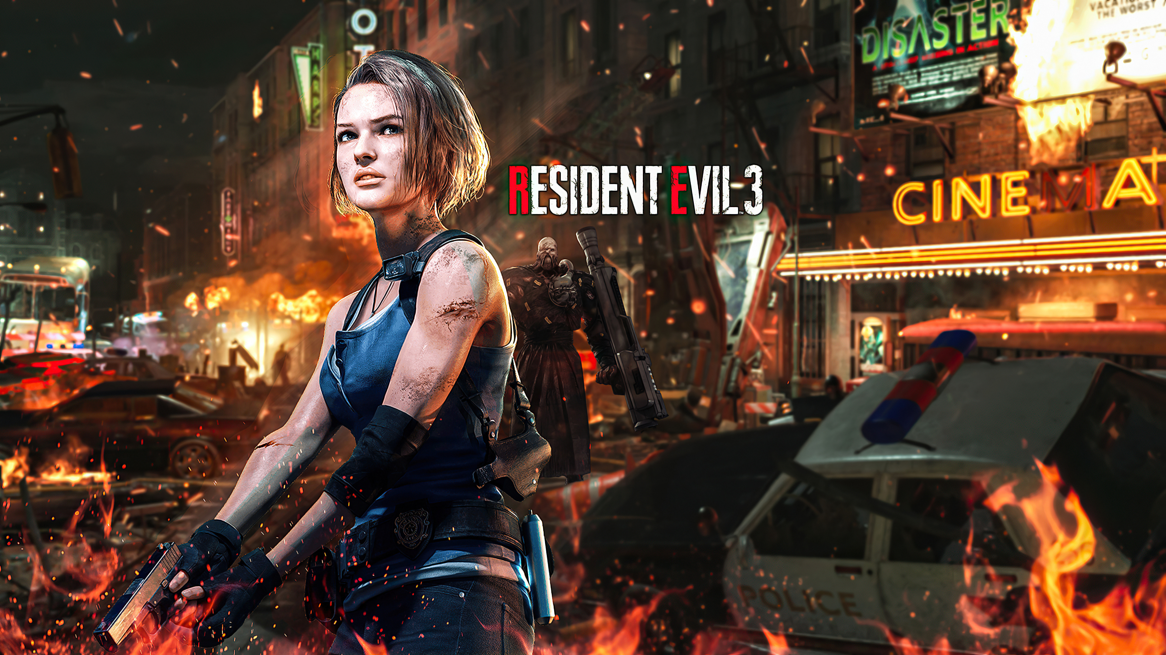 Jill Valentine Resident Evil 3 4k 2020 Hd Games 4k Wallpapers