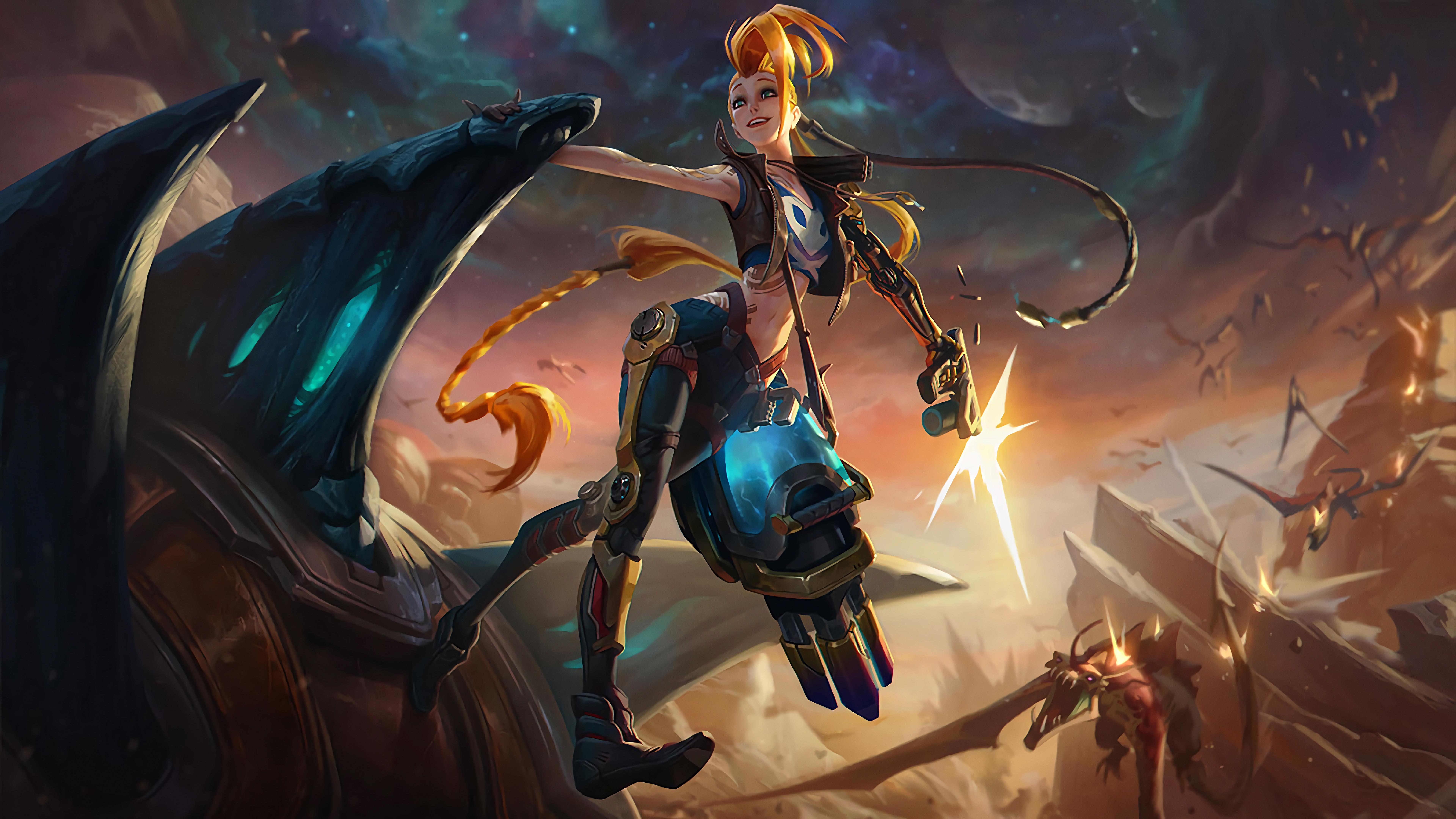Jinx League Of Legends 8k Hd Games 4k Wallpapers Images