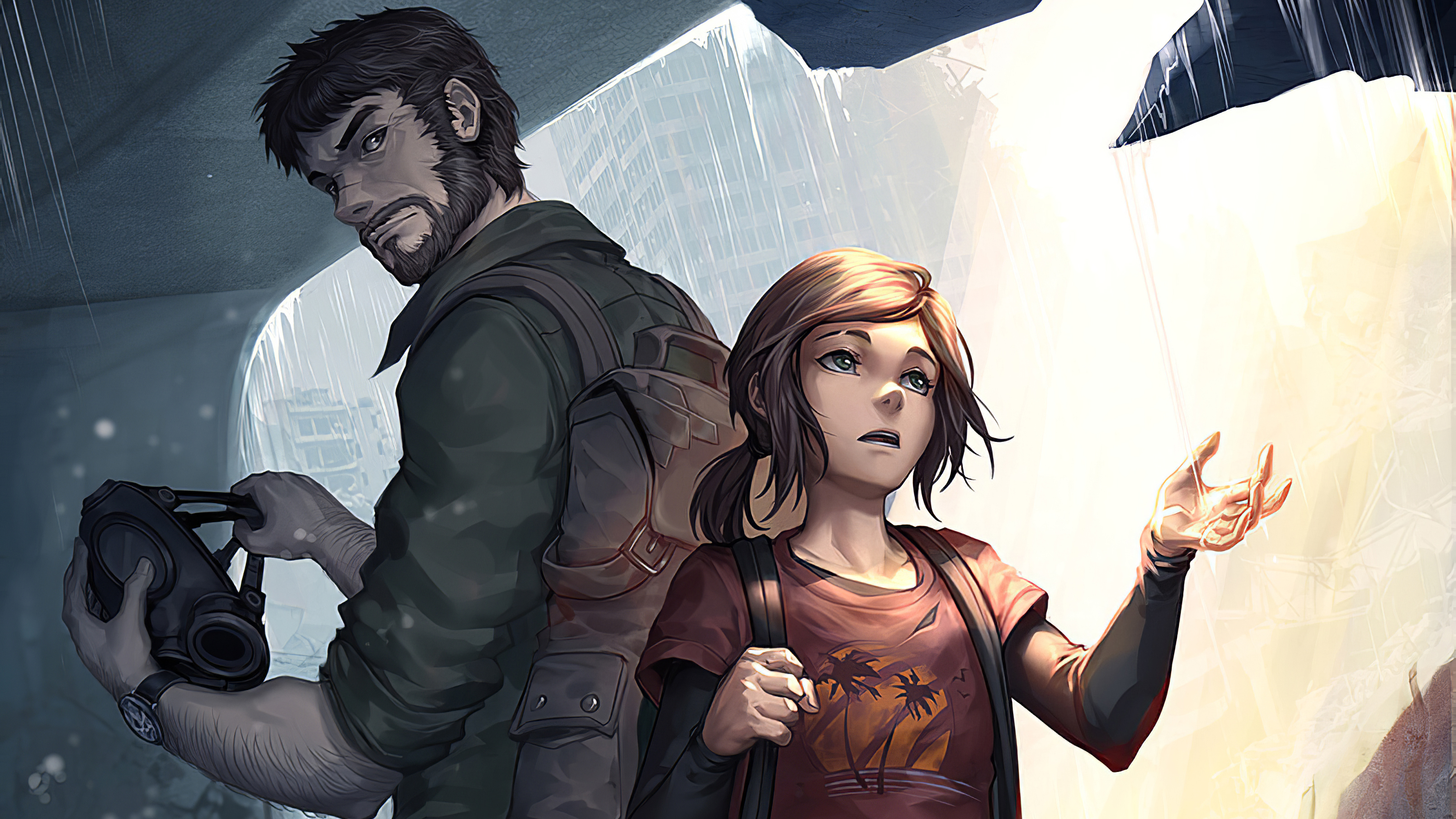 Joel And Ellie The Last Of Us Hd Games 4k Wallpapers Images Backgrounds Photos And Pictures