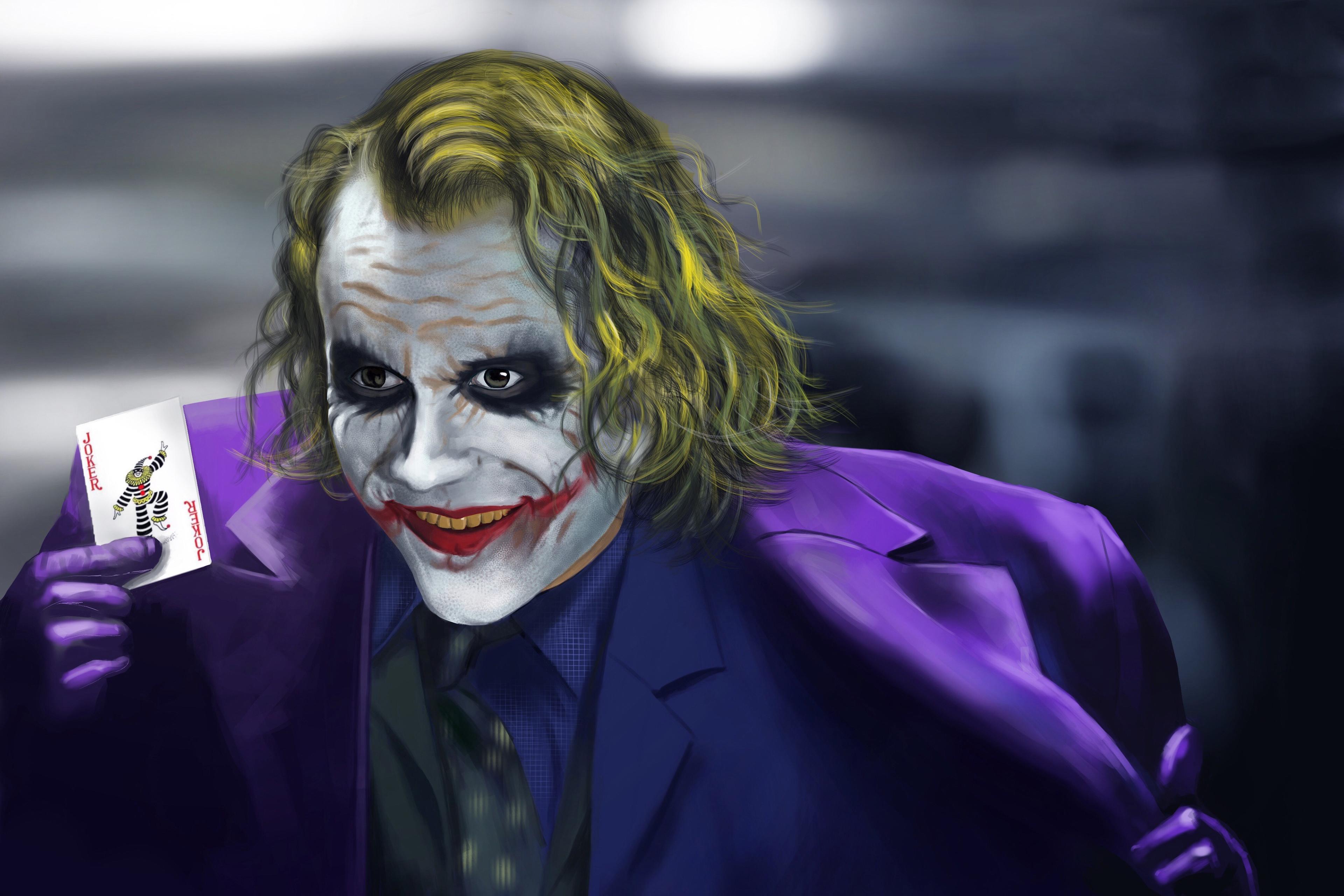 Joker 4k New Artwork, HD Superheroes, 4k Wallpapers ...
