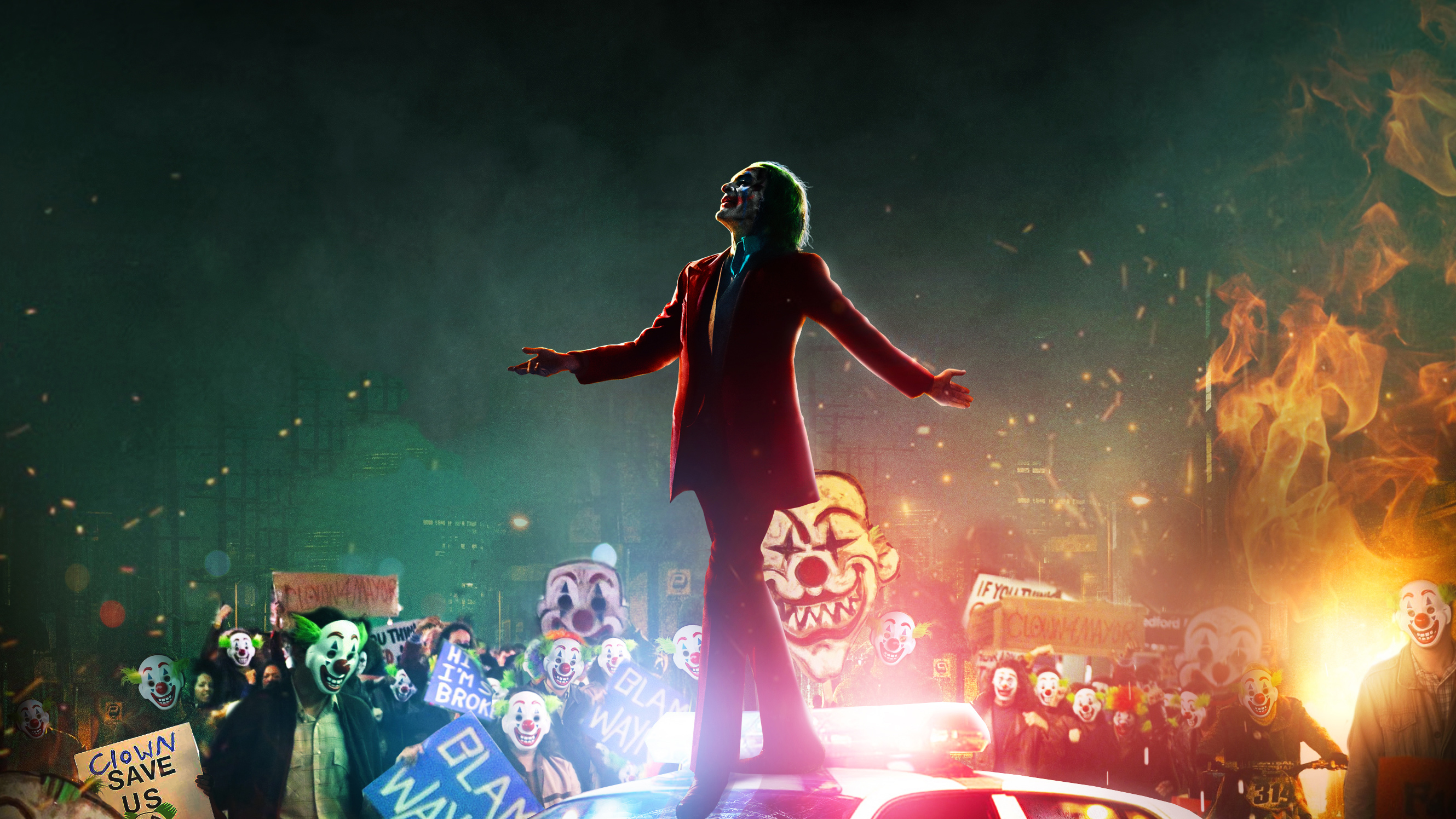 Joker All Clowns, HD Superheroes, 4k Wallpapers, Images, Backgrounds,  Photos and Pictures