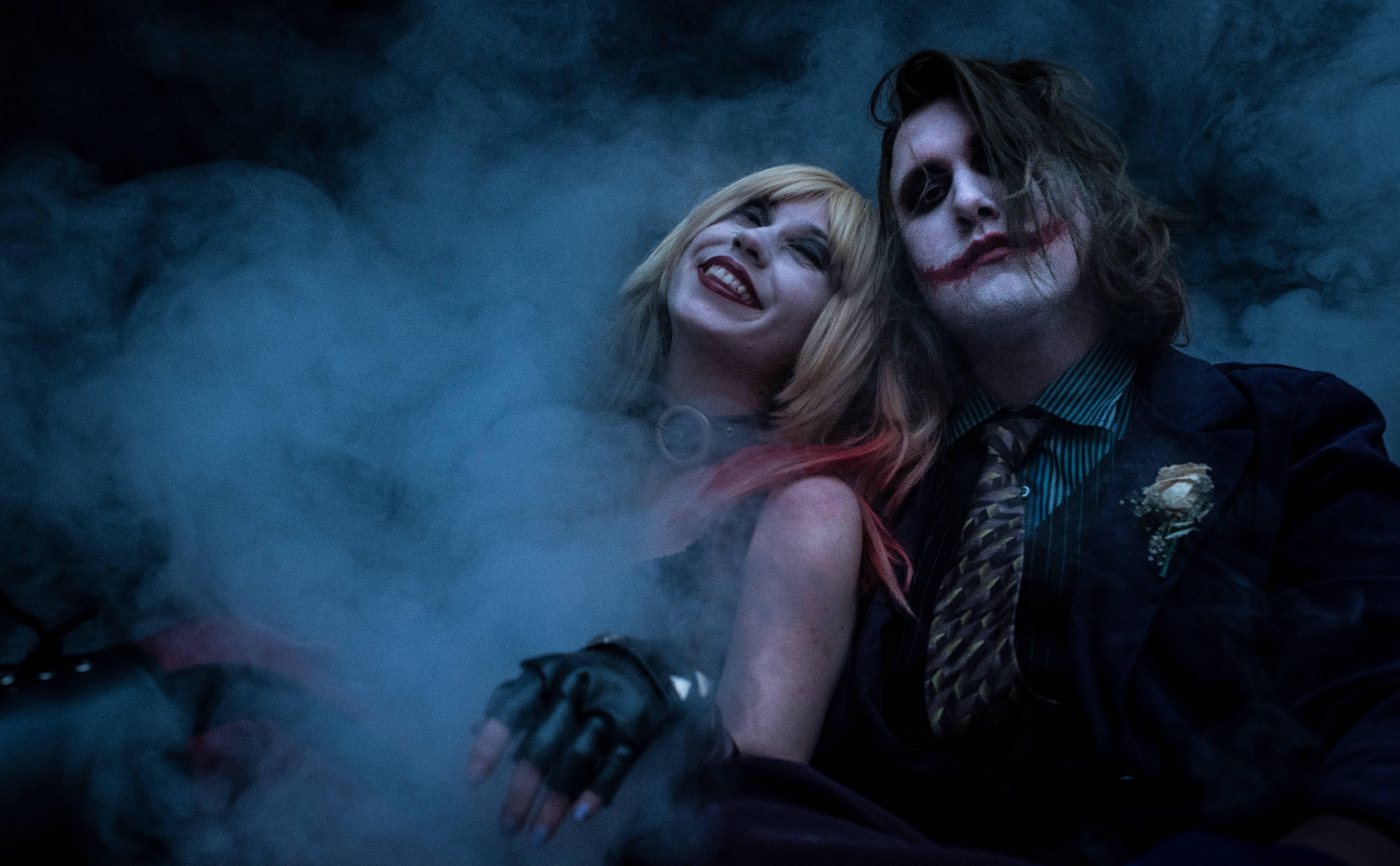 joker and harley quinn 5k cosplay gr