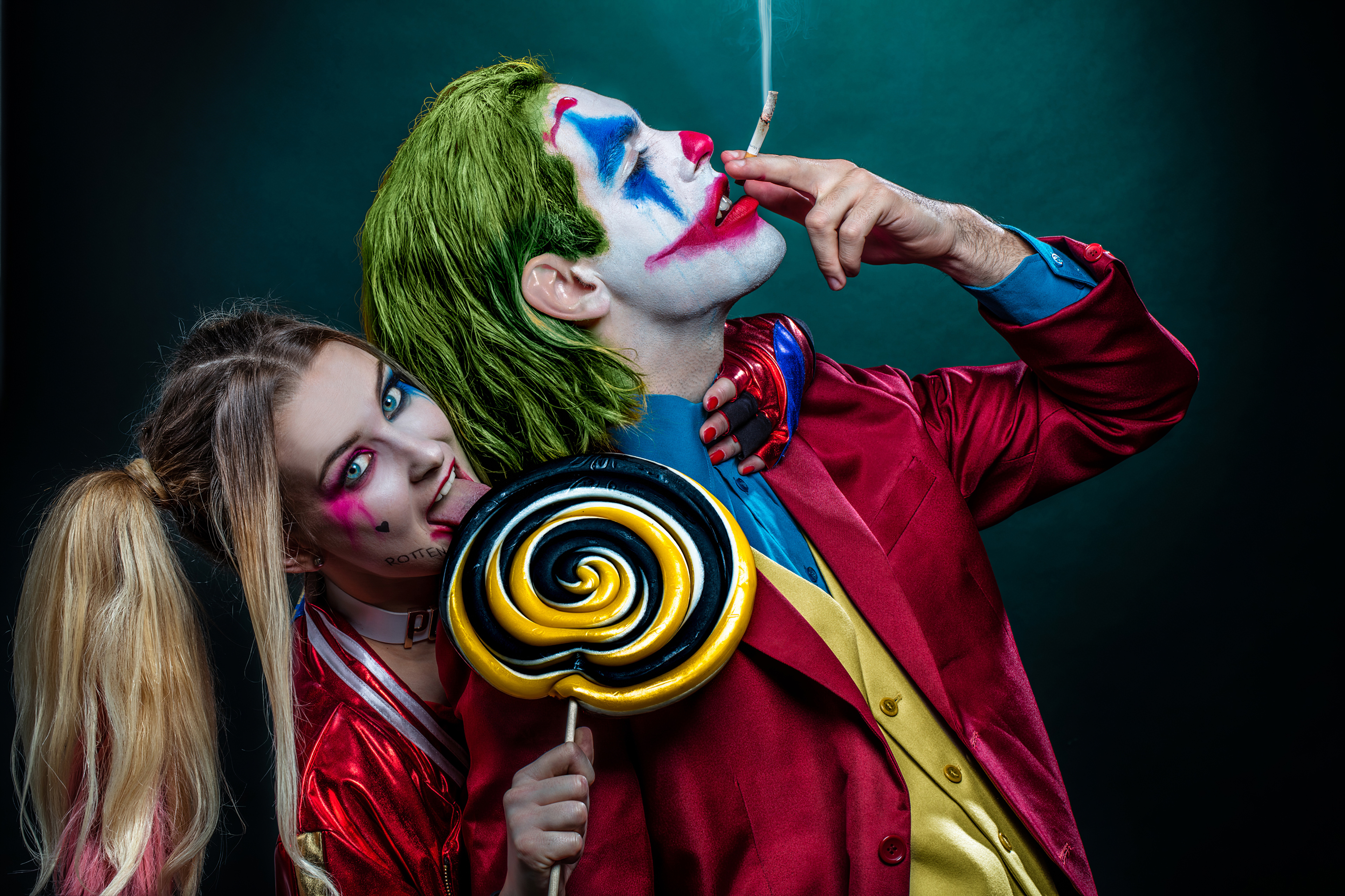 Joker And Harley Quinn Cosplay 4k, HD