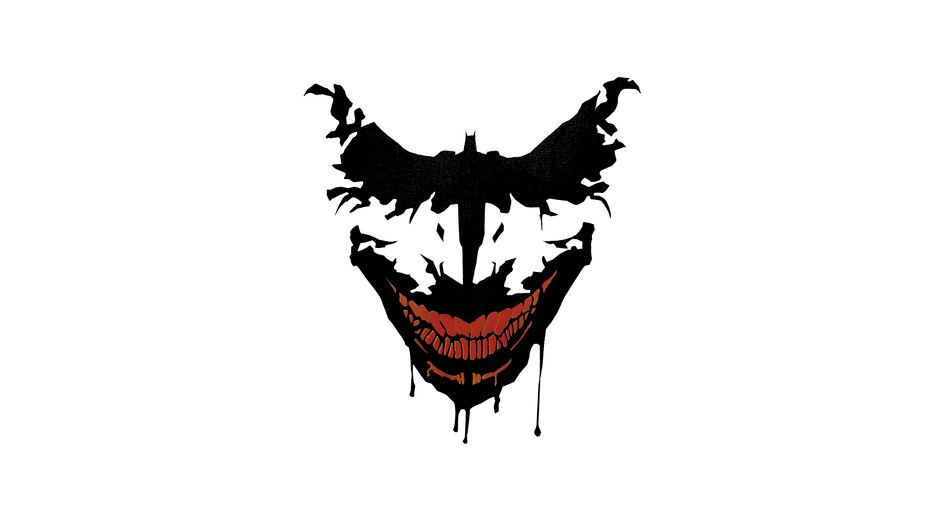 Joker Bat Art, HD Superheroes, 4k Wallpapers, Images ...