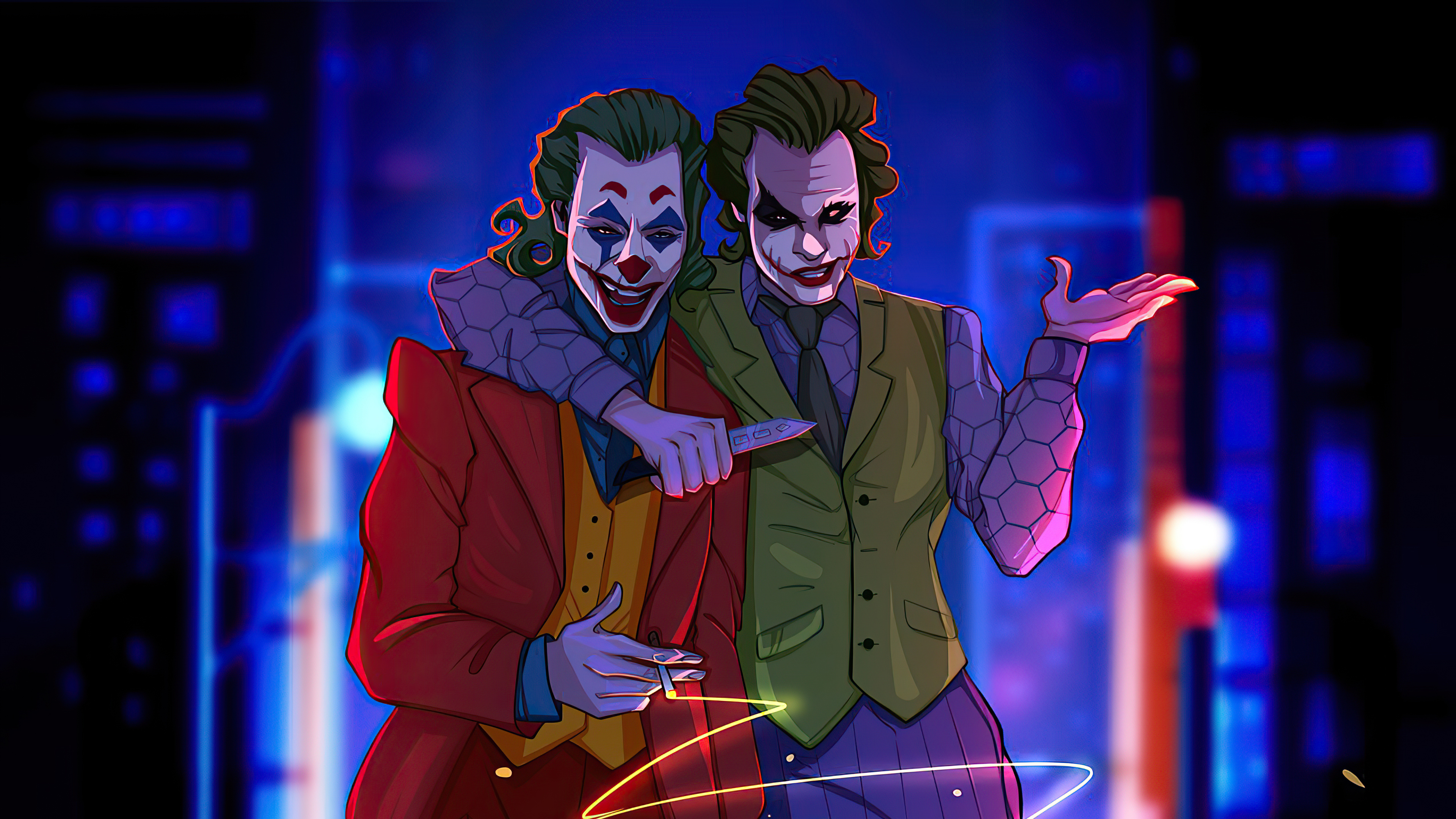 Joker Best Friends 4k Hd Superheroes 4k Wallpapers Images Backgrounds Photos And Pictures