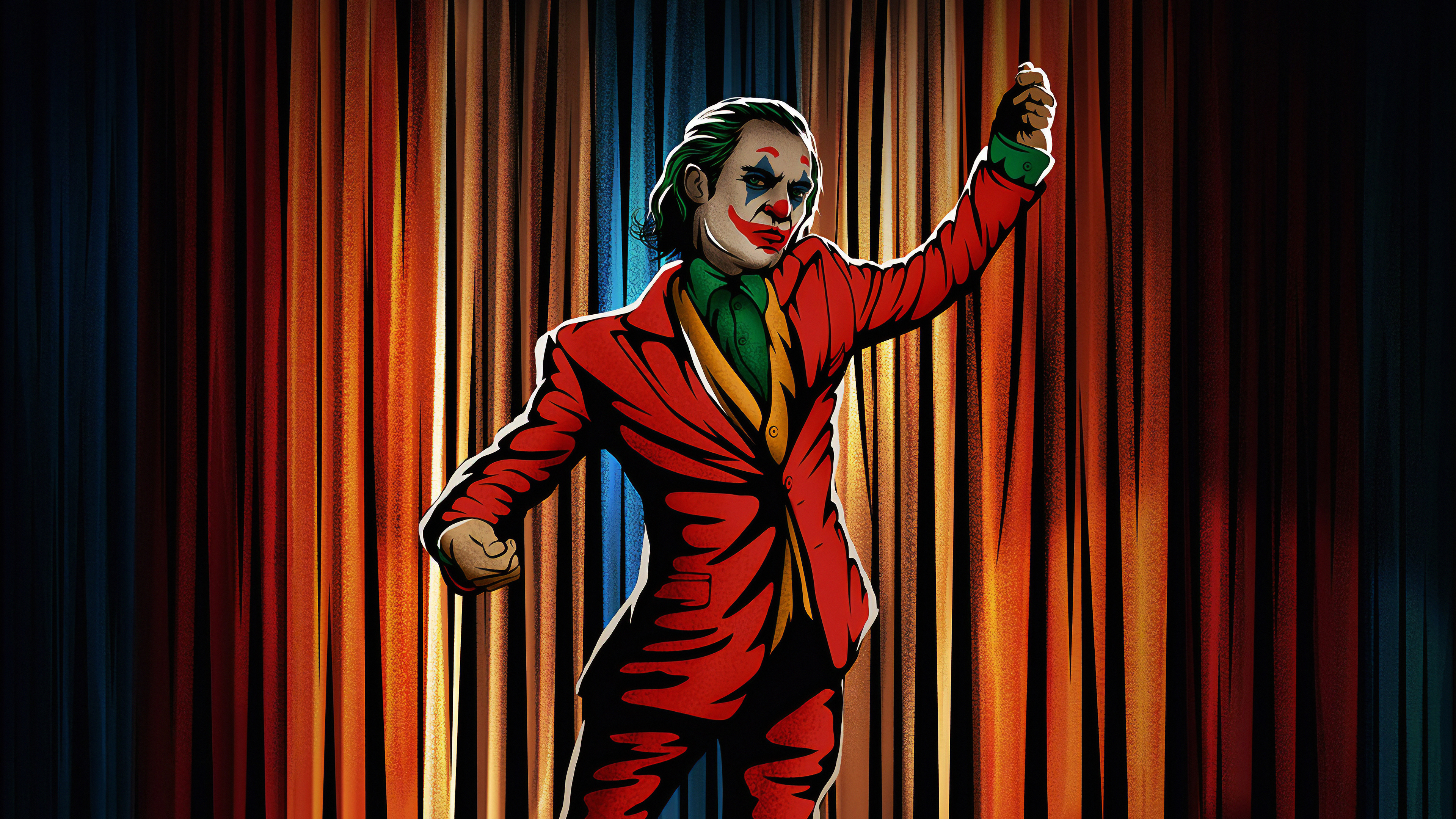 Joker Dancing Hd Superheroes 4k Wallpapers Images Backgrounds Photos And Pictures