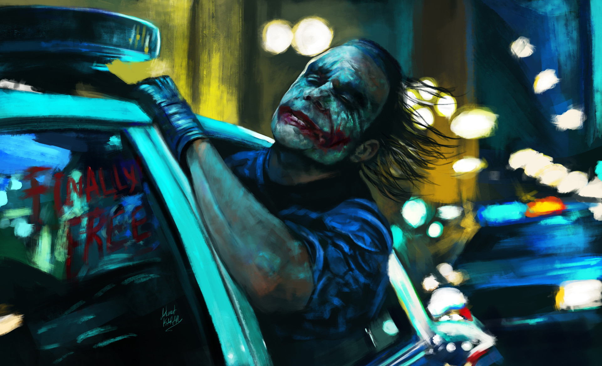 1920x1080 Joker Finally Free Artwork Laptop Full Hd 1080p Hd 4k Wallpapers Images Backgrounds Photos And Pictures