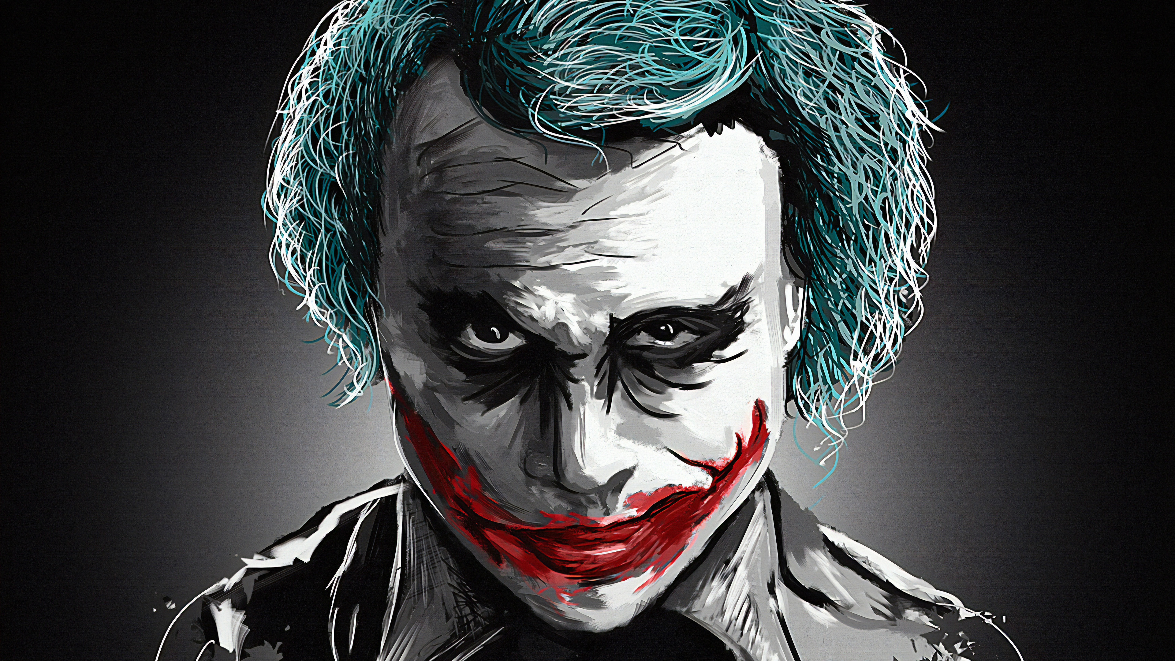 1152x864 Joker Heath Ledger Art 4k 1152x864 Resolution Hd 4k Wallpapers Images Backgrounds Photos And Pictures