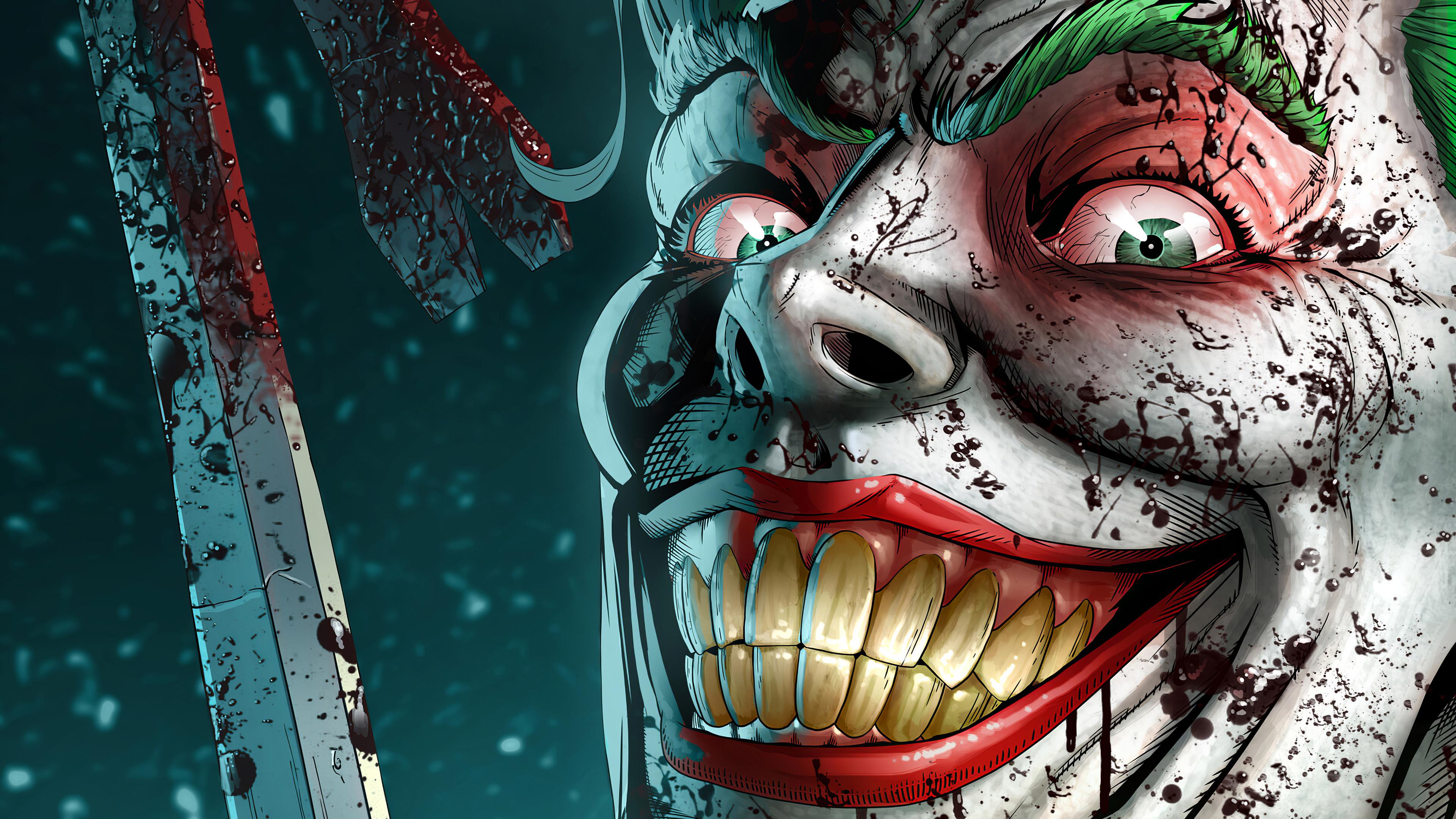 Joker Smile Danger 4k, HD Superheroes, 4k Wallpapers ...