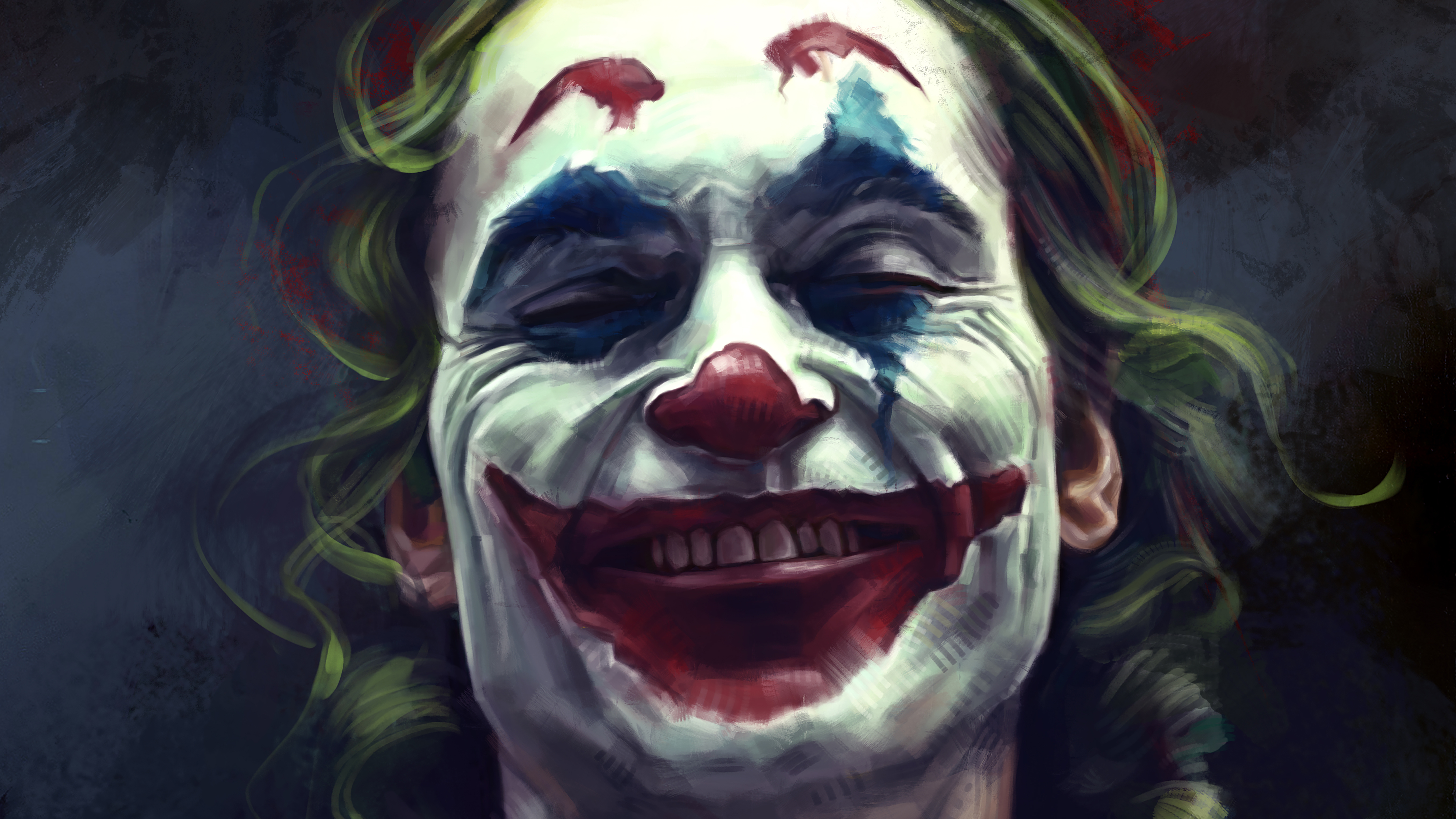 1366x768 Joker Smile For Me 5k 1366x768 Resolution Hd 4k Wallpapers Images Backgrounds Photos And Pictures