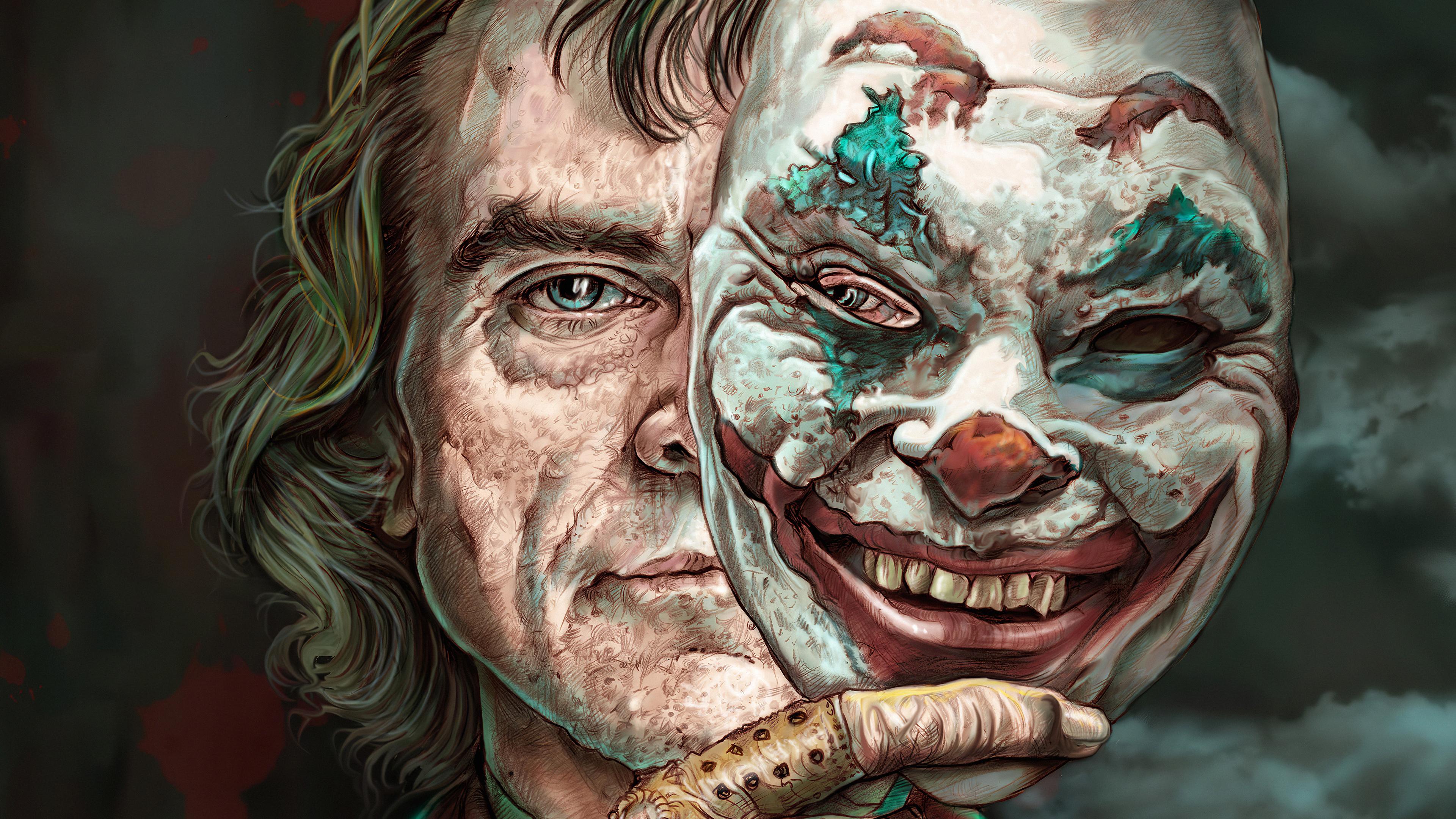 Joker Two Face 4k, HD Superheroes, 4k Wallpapers, Images ...