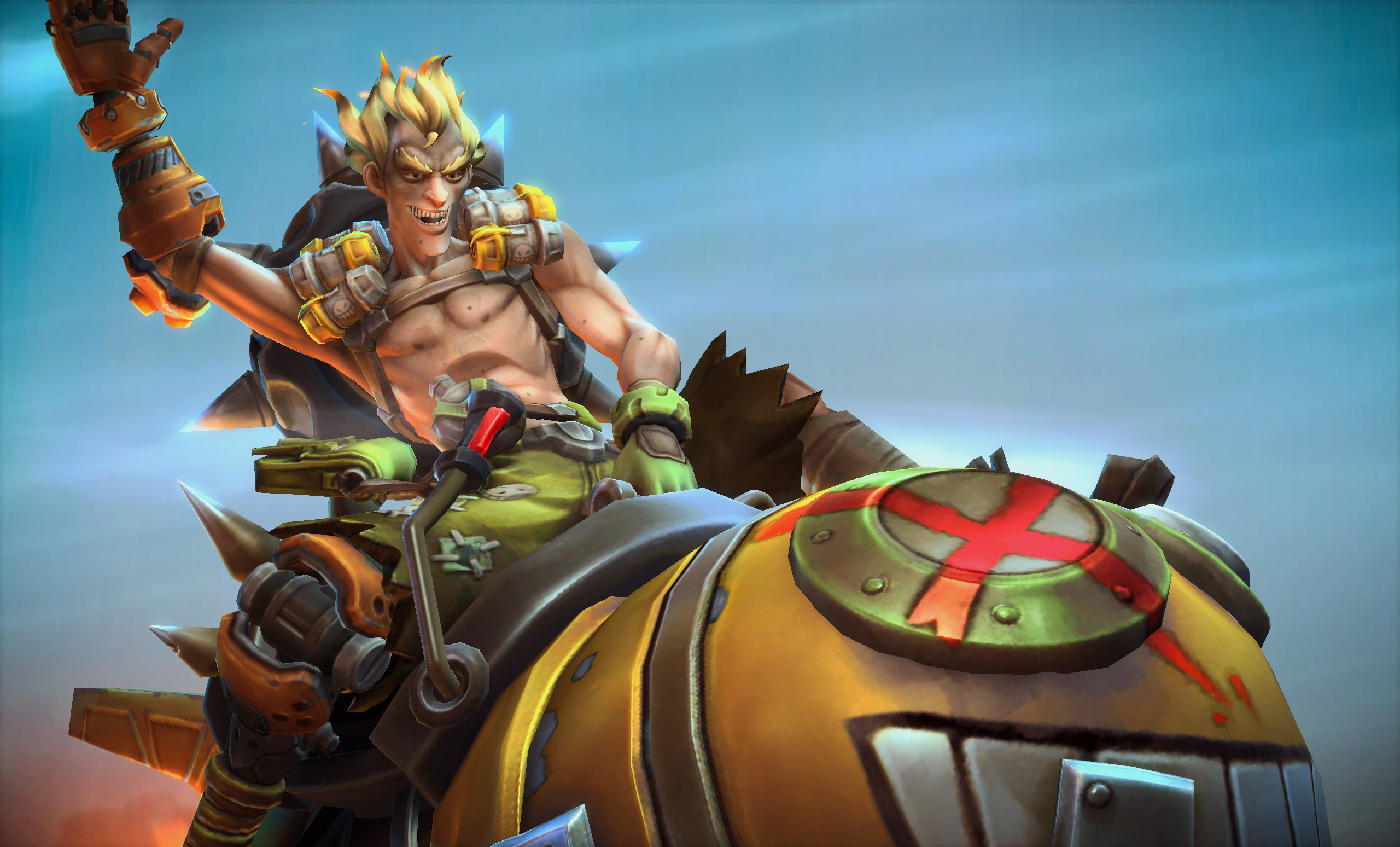 Junkrat Heroes Of The Storm Hd Games 4k Wallpapers Images
