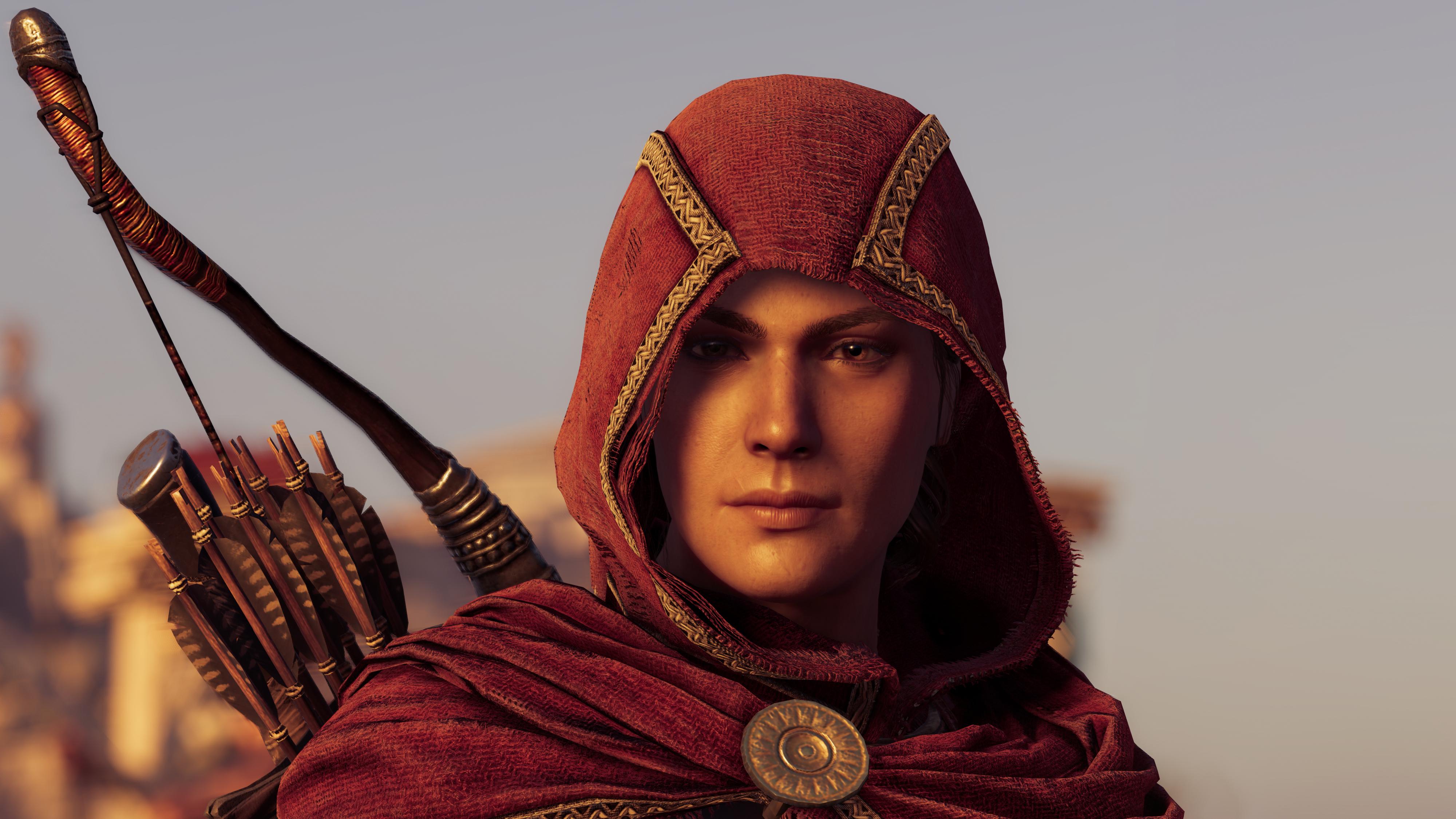 Kassandra In Assassins Creed Odyssey 4k Hd Games 4k Wallpapers