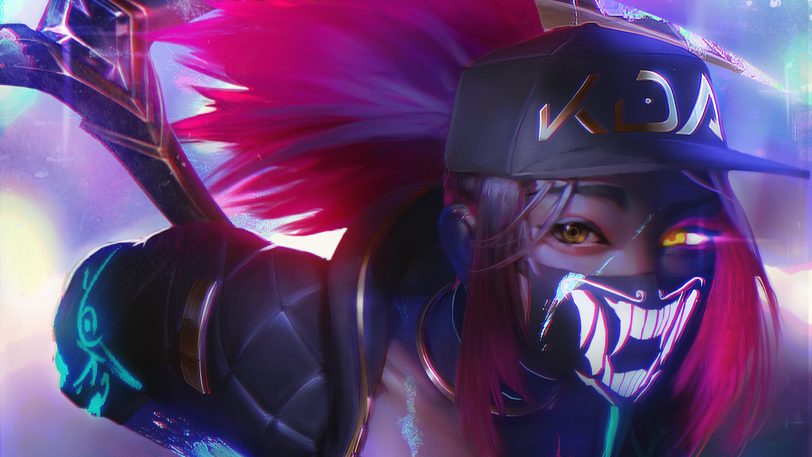 Kda Akali Fan Art Hd Games 4k Wallpapers Images Backgrounds Photos And Pictures