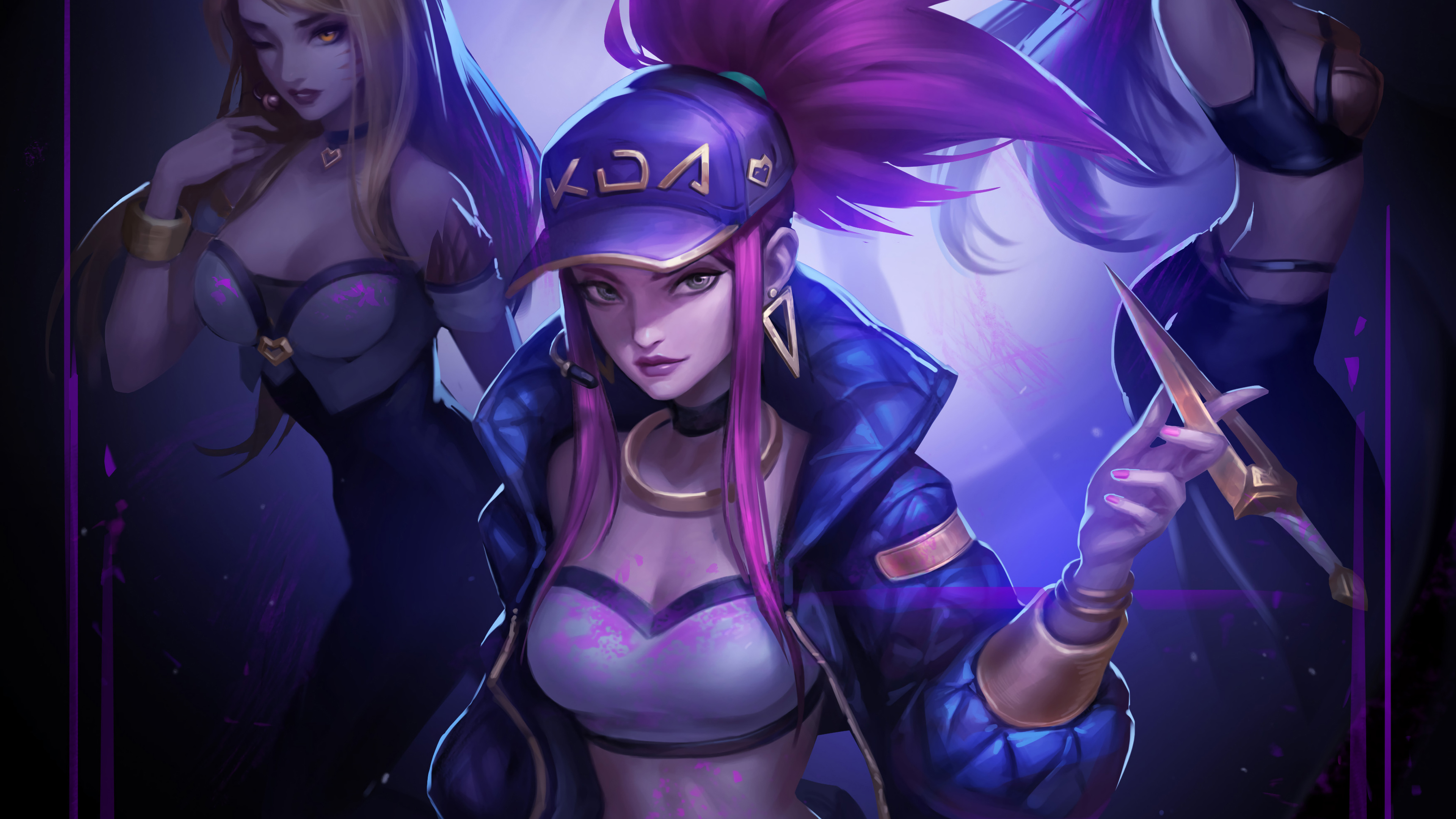 Kda Akali League Of Legends 4k Hd Games 4k Wallpapers Images