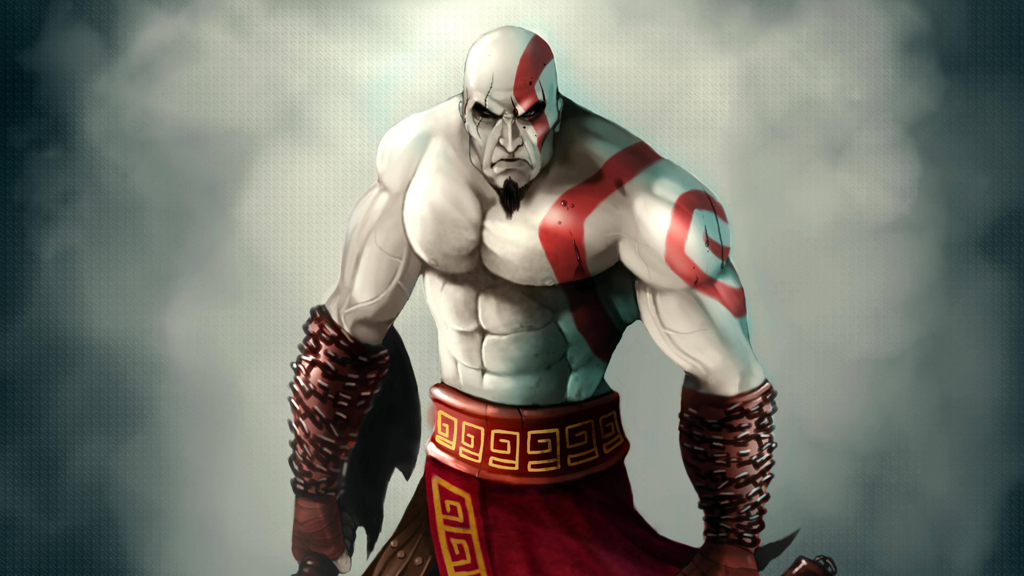 1680x1050 Kratos God Of War 4k Art 1680x1050 Resolution Hd