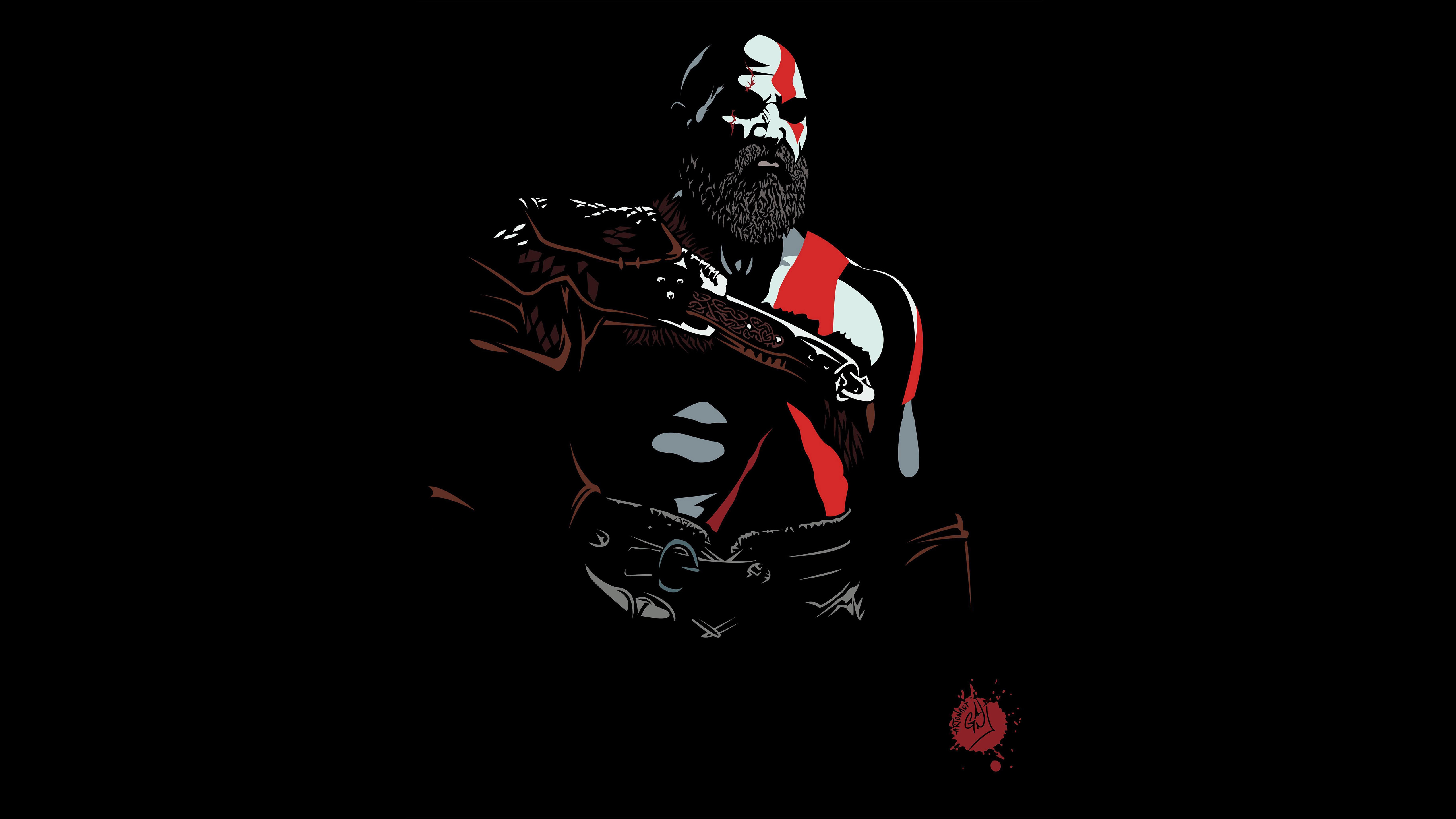480x854 Kratos God Of War 5k Android One Hd 4k Wallpapers Images