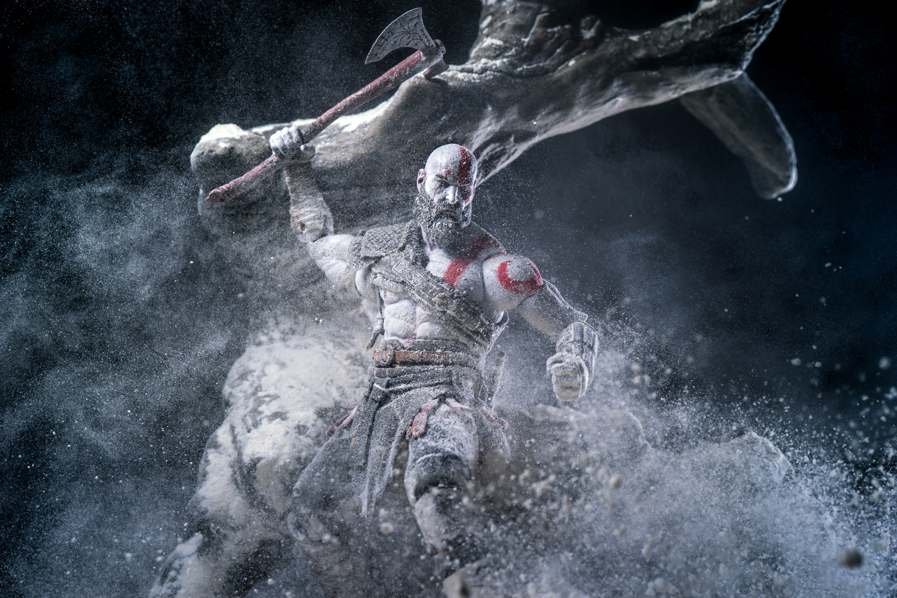 Kratos God Of War Video Game Hd Games 4k Wallpapers Images