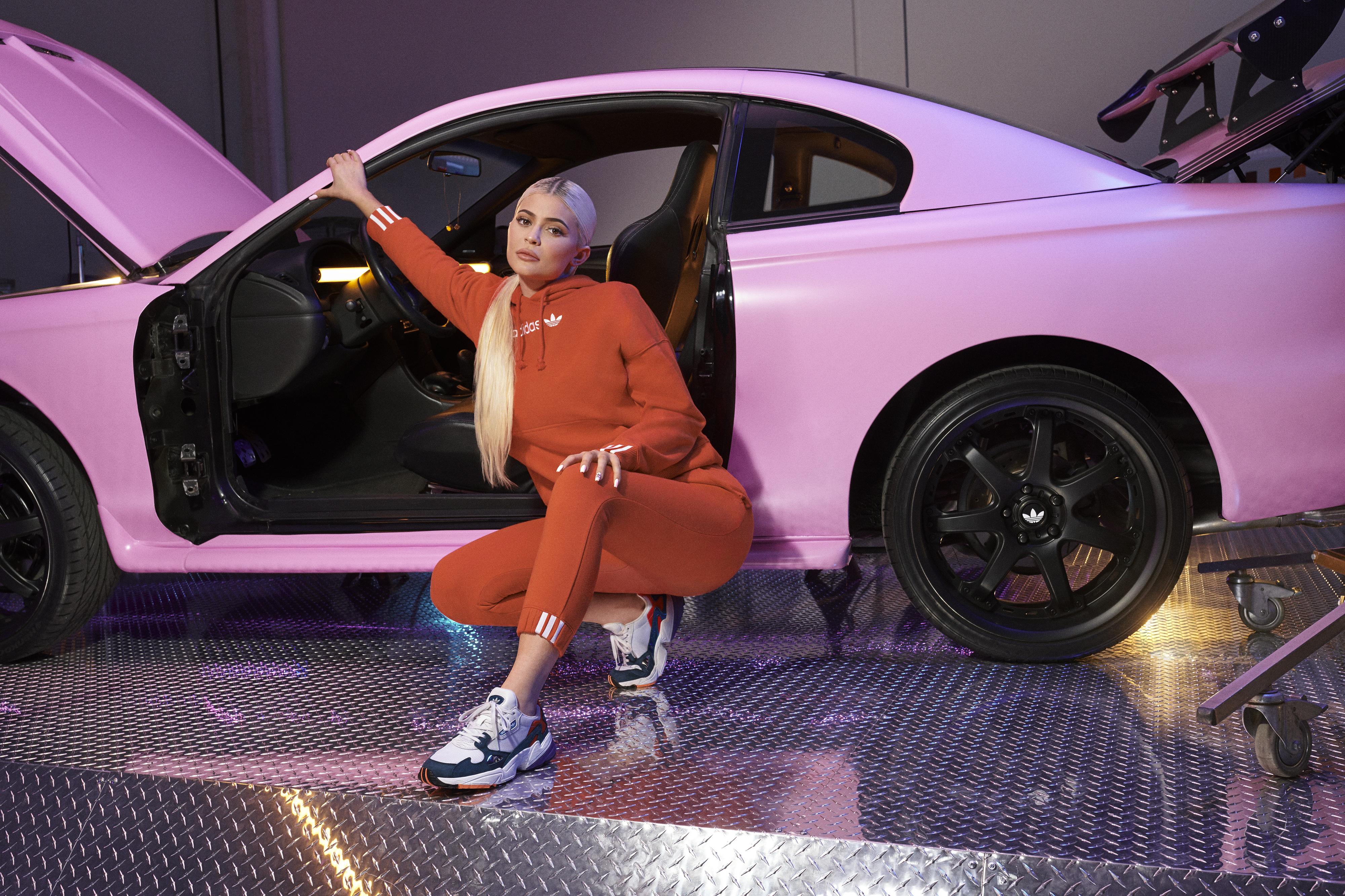 Kylie Jenner Adidas Originals Coeeze