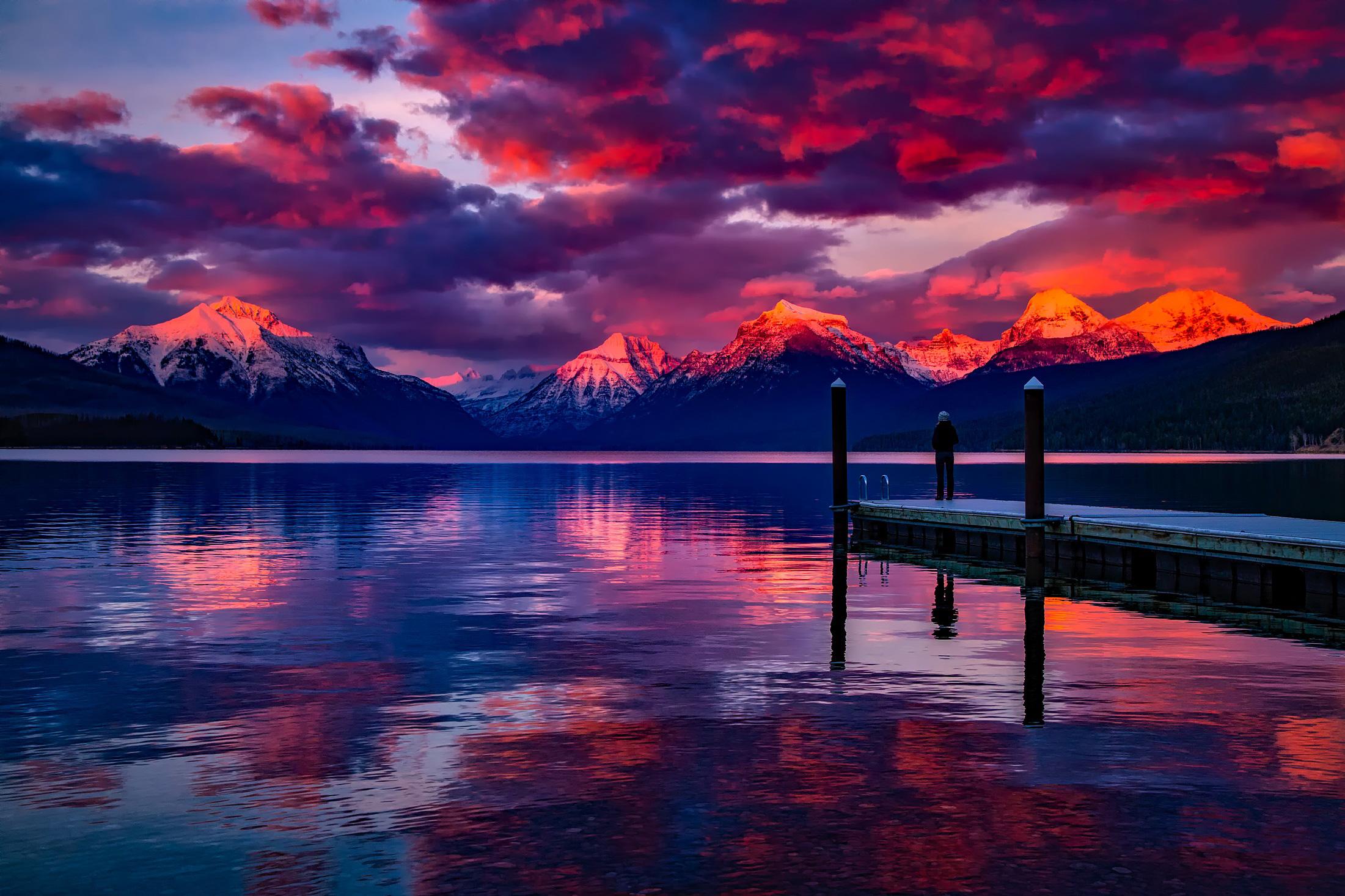 Lake Mcdonald Glacier National Park Hd Nature 4k Wallpapers